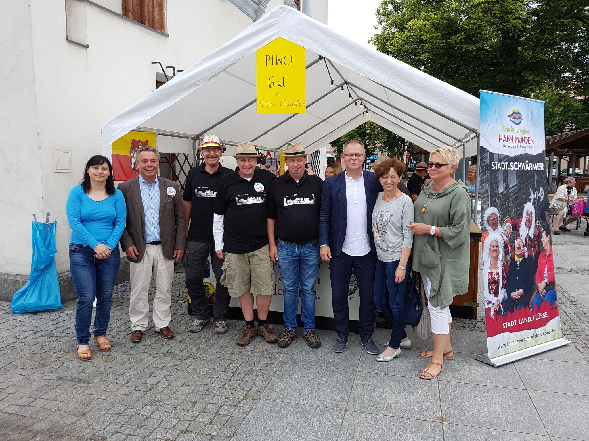 Ratsbrauhaus beim Altstadtfest in Chelmno