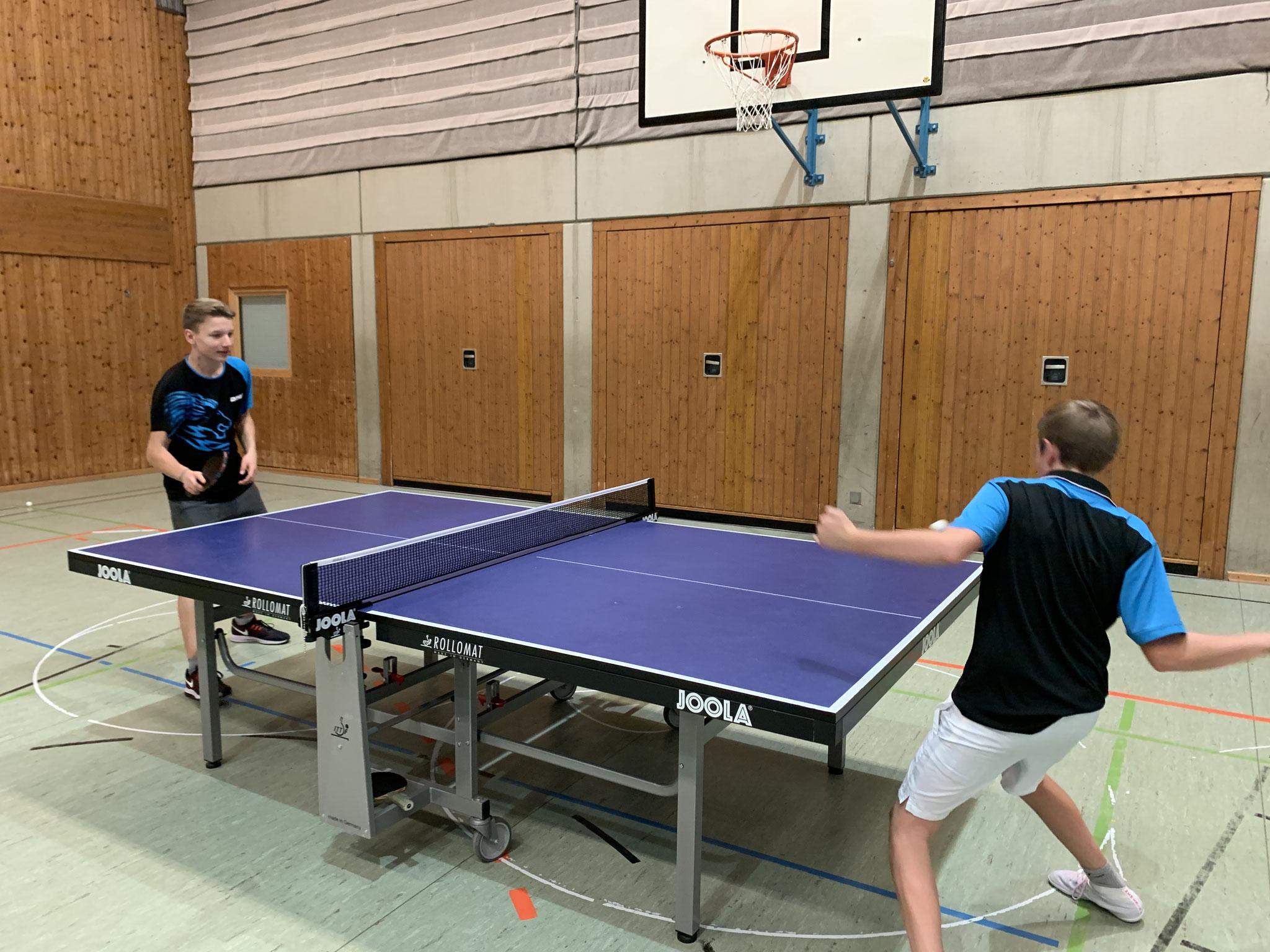 Tischtennis - eine Klasse für sich