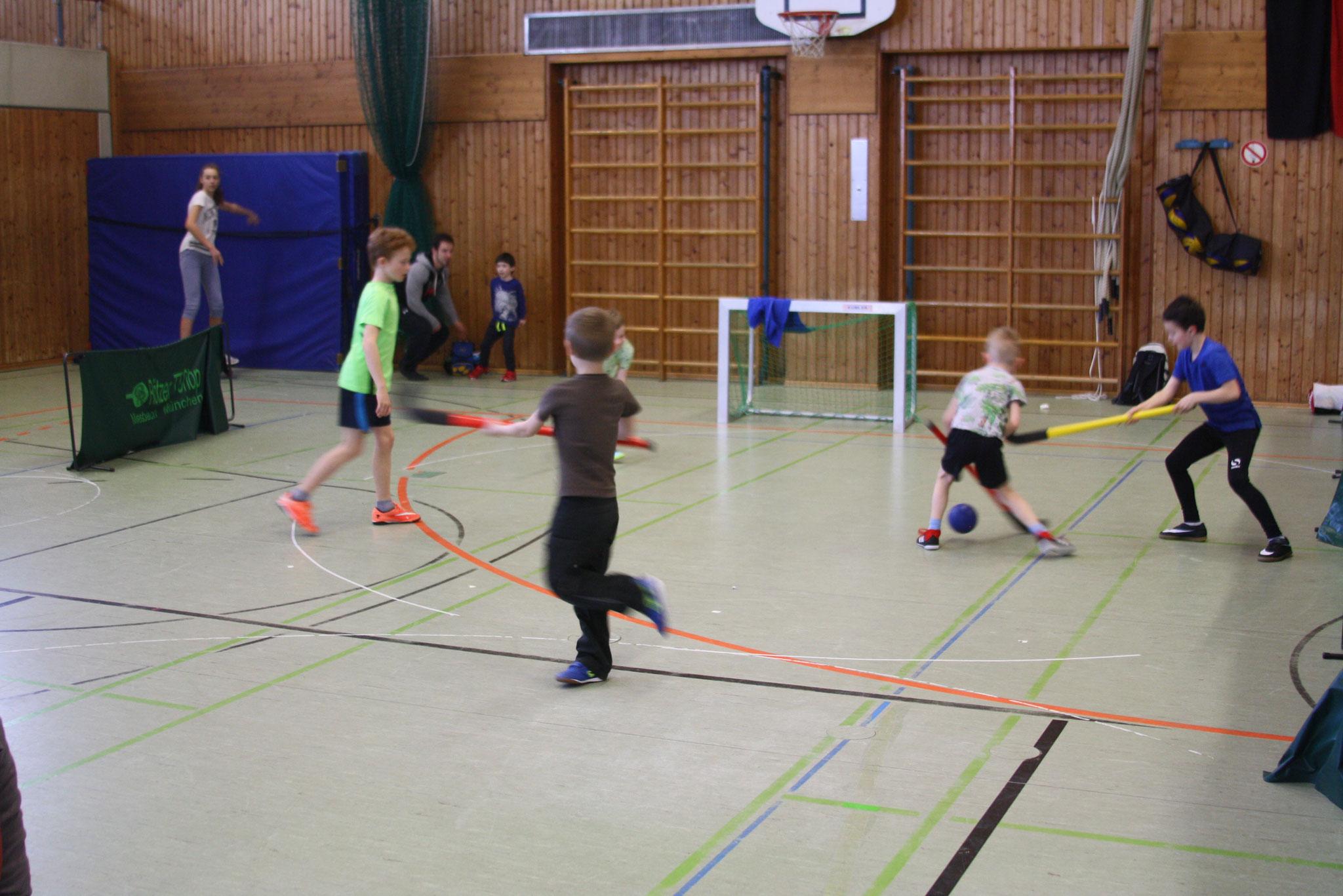 TSV bewegt was - Abenteuerspielplatz Turnhalle