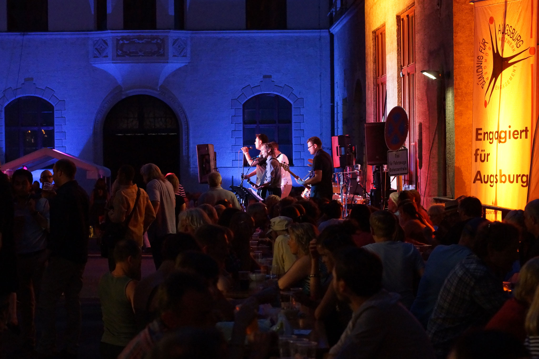 Konzerte im Bürgerhof 02.07.15 Ship & Anchor - Freiwilligen-Zentrum Augsburg - Foto: Crayfish