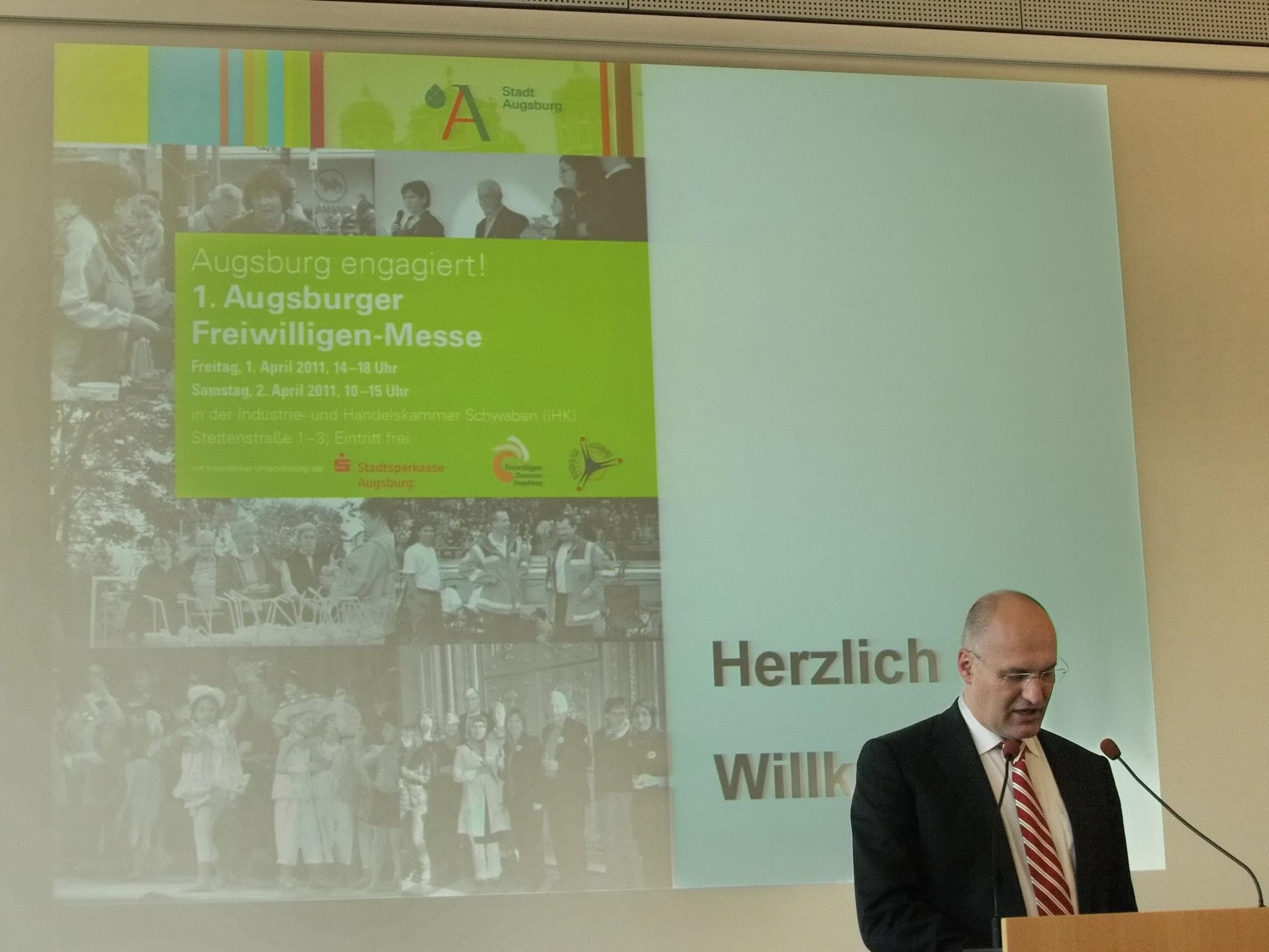 1. Augsburger Freiwilligen-Messe 2011 - Foto: Hugo Fössinger