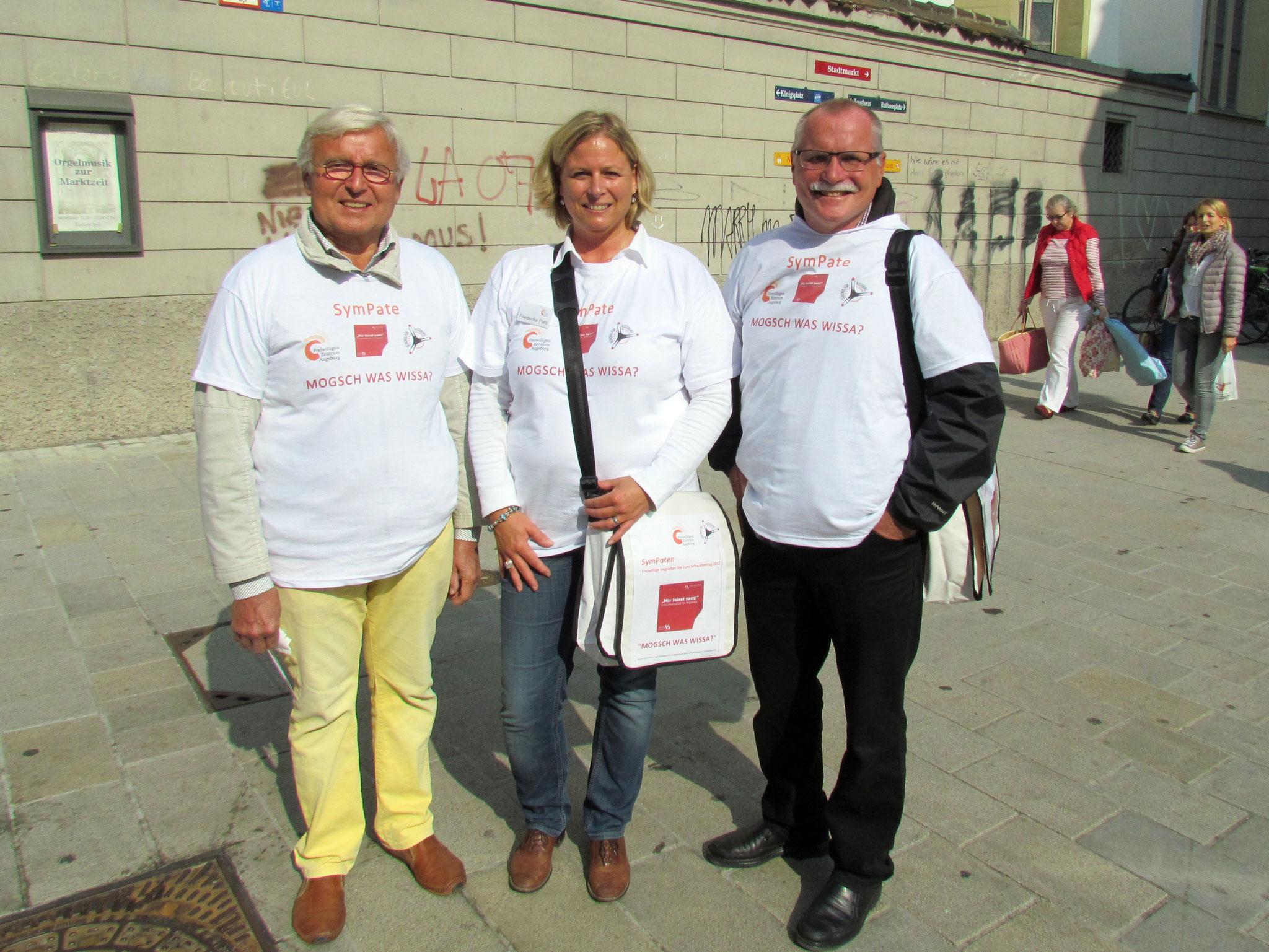 SymPaten - Schwabentag 2017 - Foto: Friederike Pahl - Freiwilligen-Zentrum Augsburg