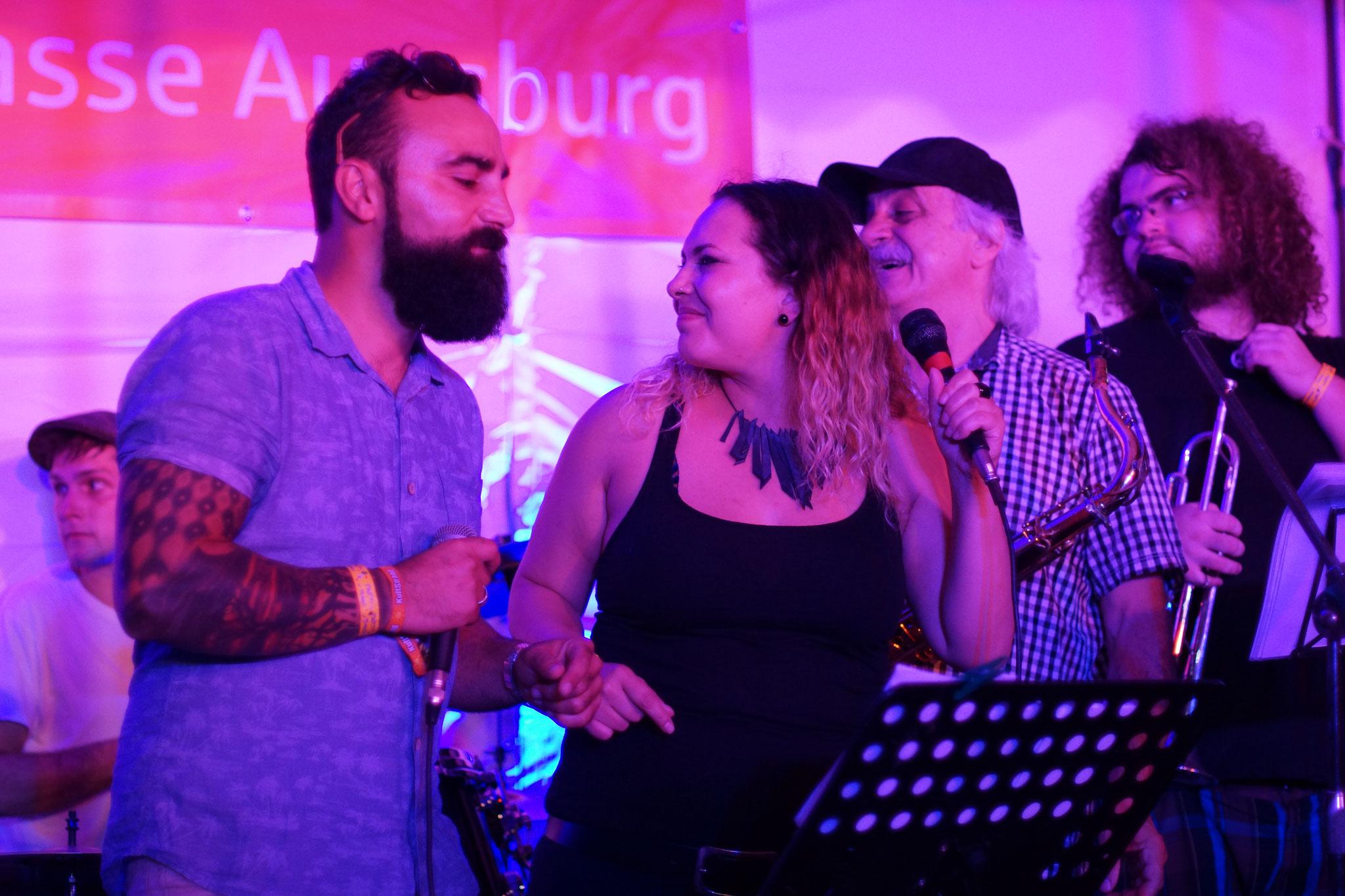 Konzerte im Bürgerhof 07.07.17 Motherfunkers - Freiwilligen-Zentrum Augsburg - Foto: Crayfish