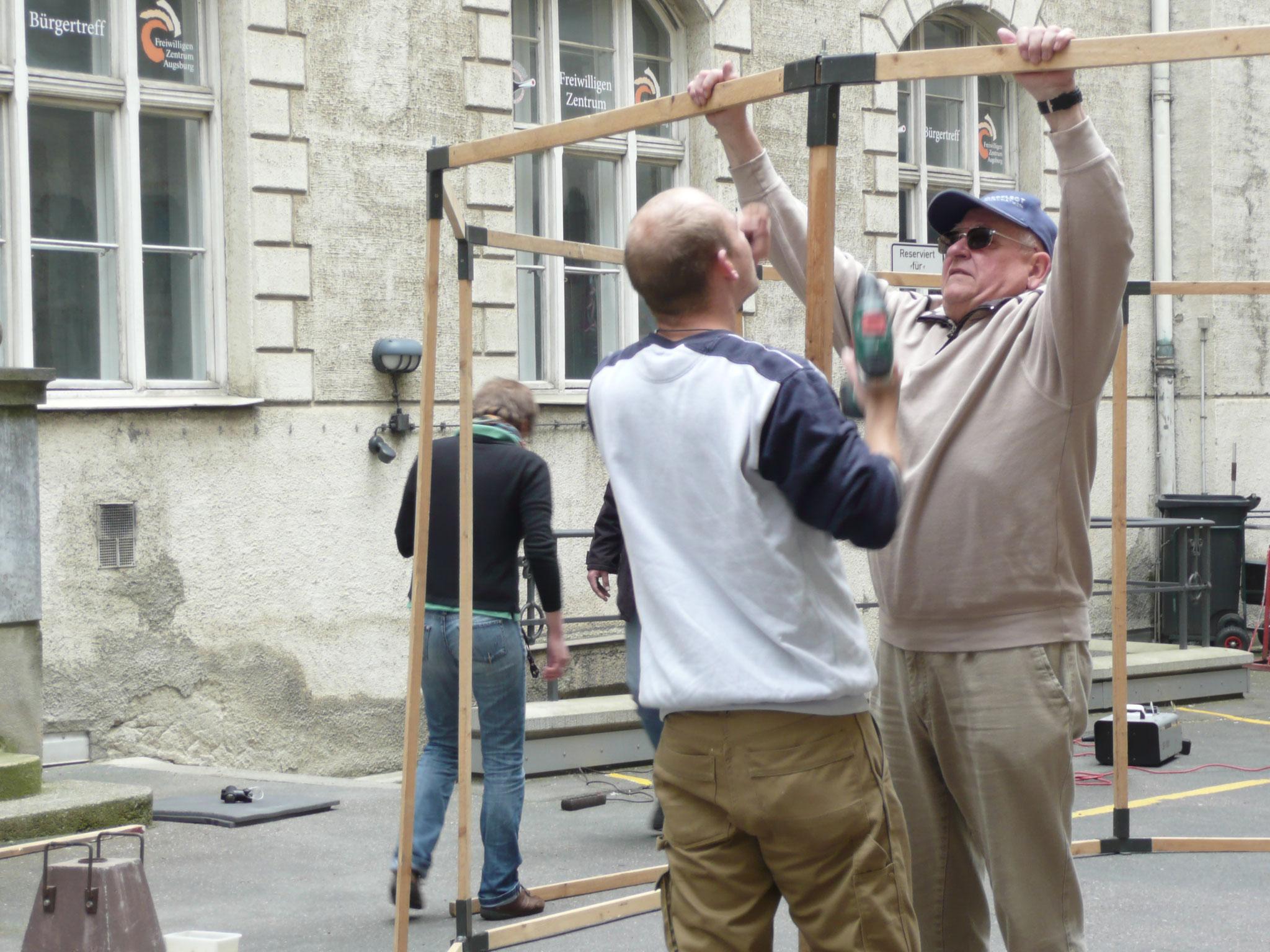 Die Wanderjurte 2013 - Foto: Maria Fey - Freiwilligen-Zentrum Augsburg