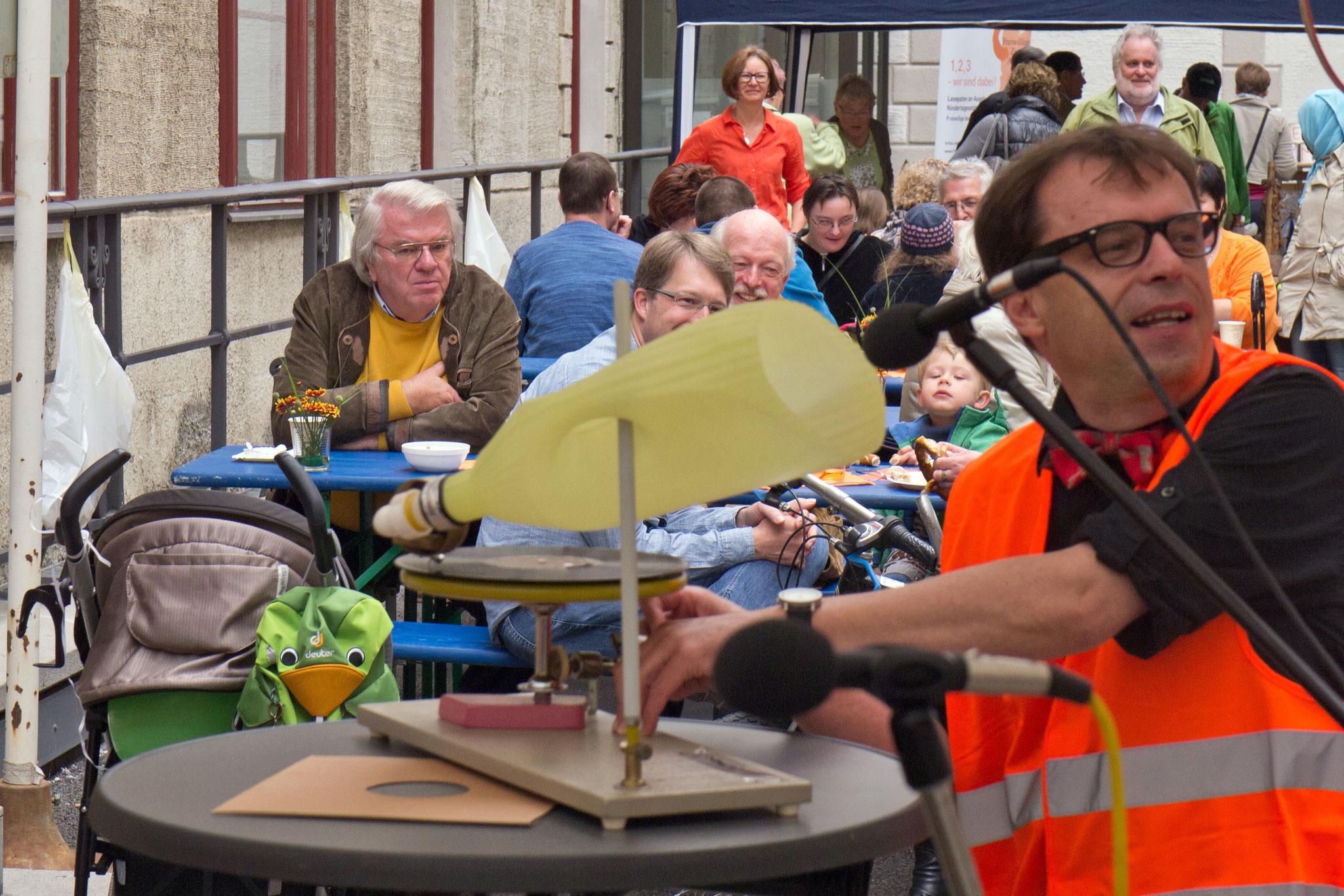 10 Jahre Freiwilligen-Zentrum Augsburg im Bürgertreff / Bürgerhof 2014 - Foto: Robert Hösle