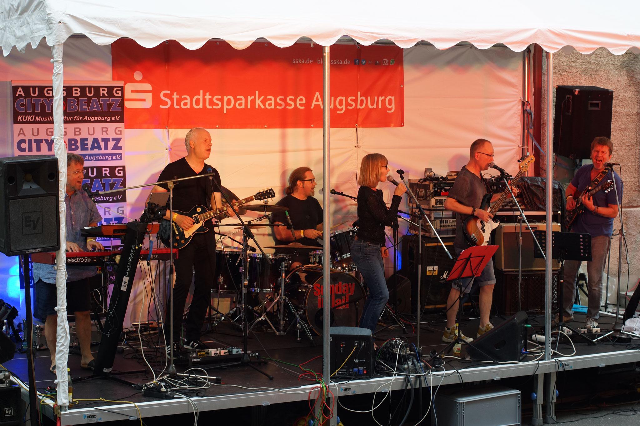 Konzerte im Bürgerhof 08.07.17 Still in Progress - Freiwilligen-Zentrum Augsburg - Foto: Crayfish