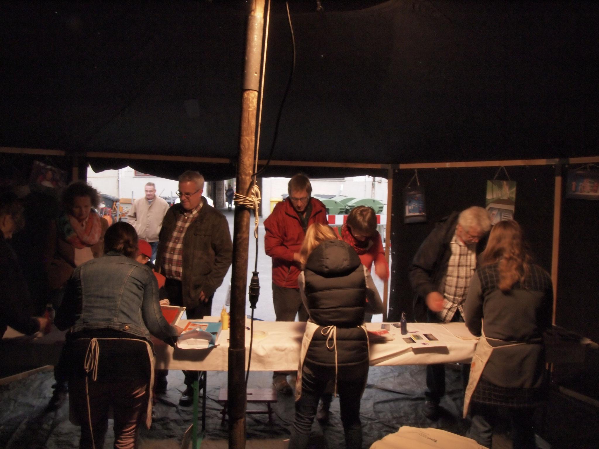 Die Wanderjurte 2013 - Foto: Robert Hösle - Freiwilligen-Zentrum Augsburg