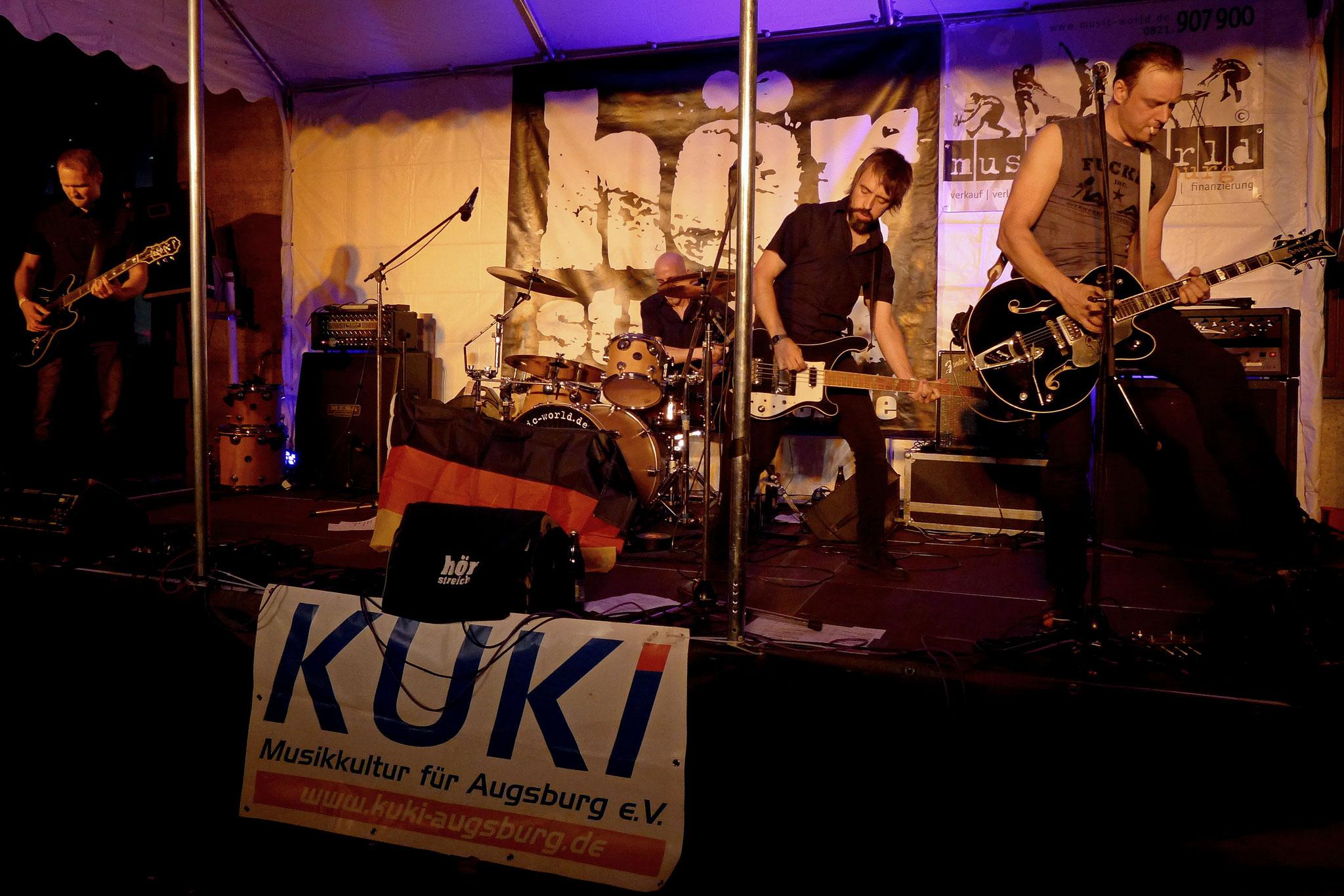 Konzerte im Bürgerhof 07.07.16 Hörstreich - Freiwilligen-Zentrum Augsburg - Foto: Christoph Urban