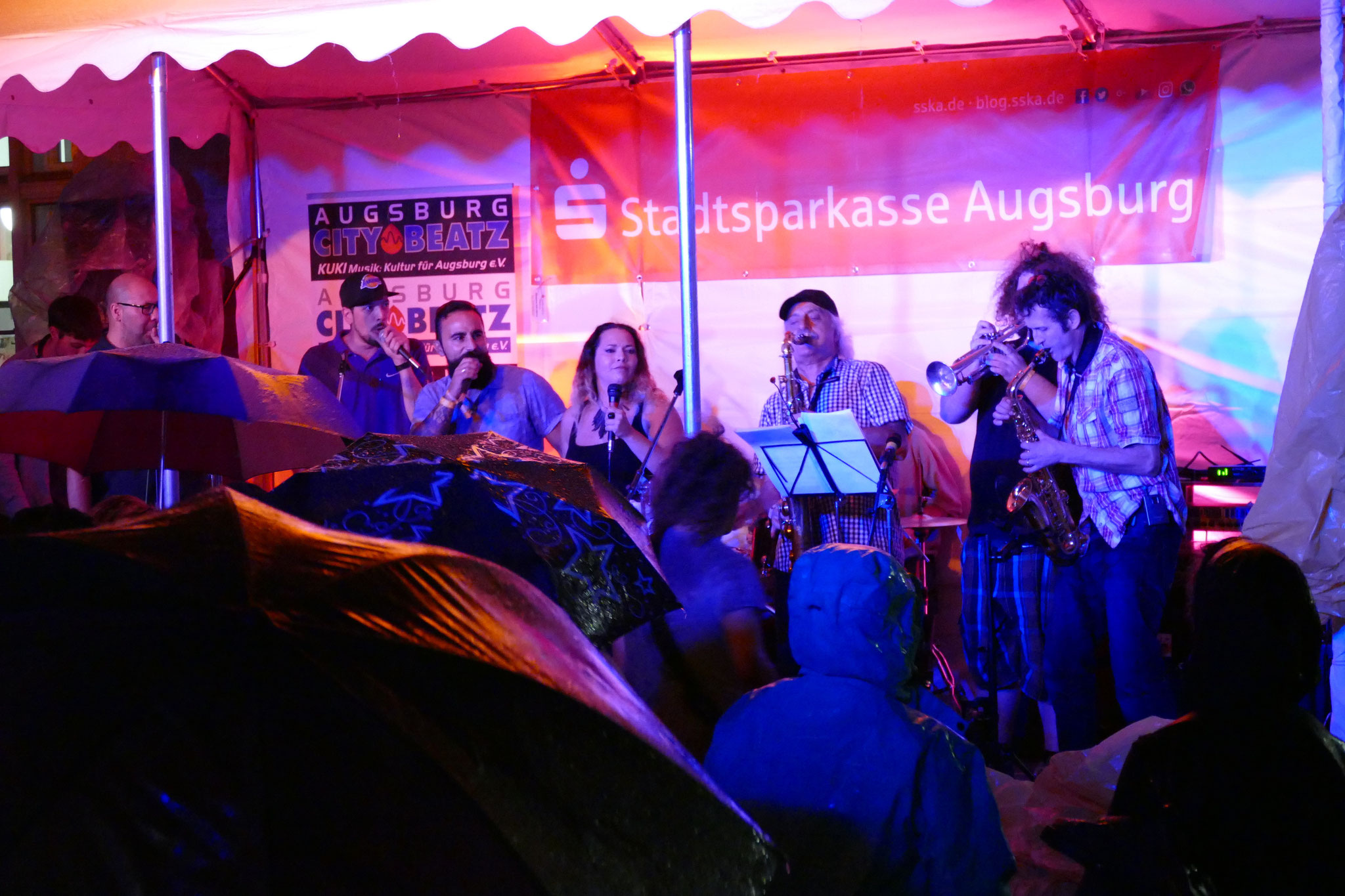 Konzerte im Bürgerhof 07.07.17 Motherfunkers - Freiwilligen-Zentrum Augsburg - Foto: Christoph Urban