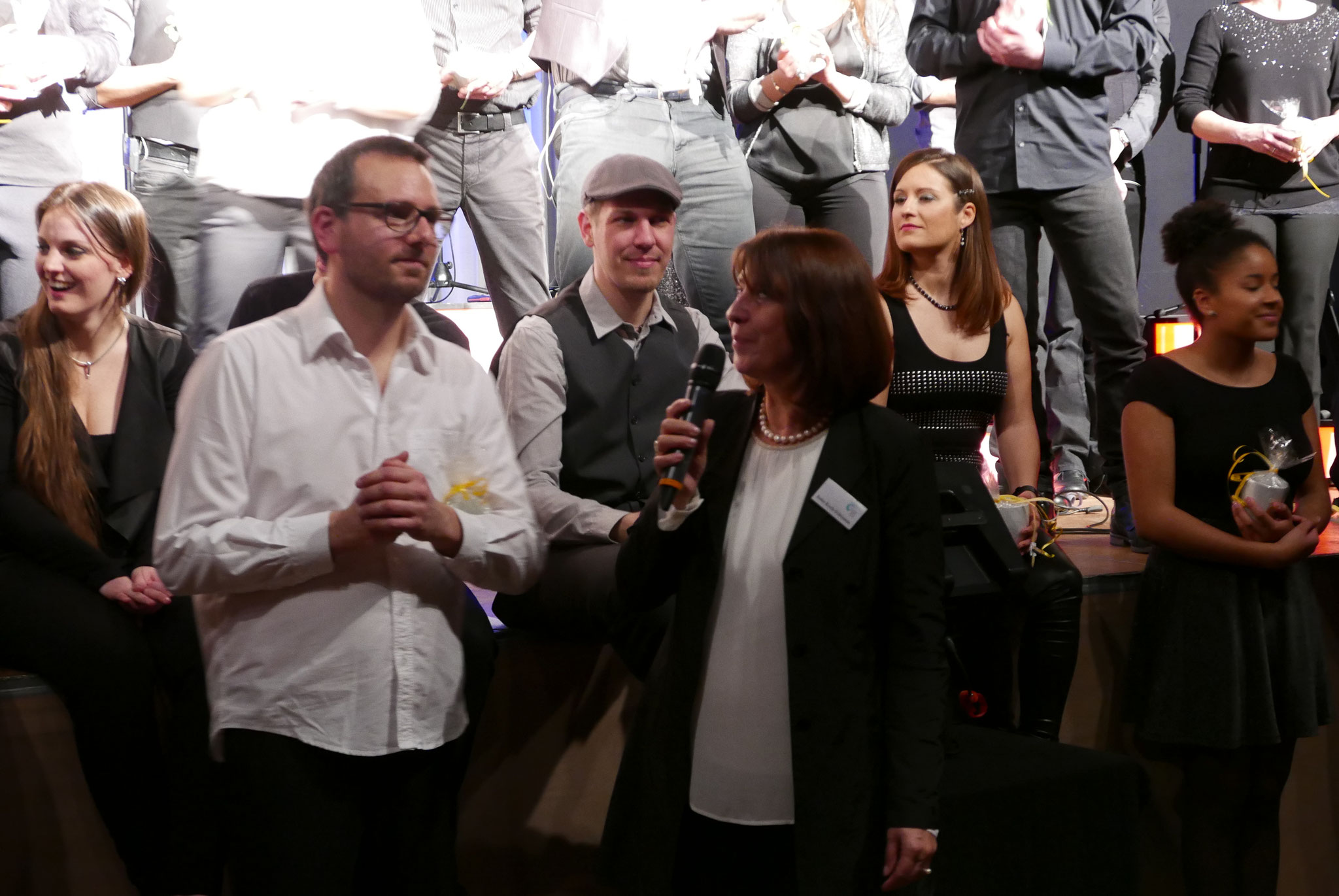 Benefizkonzert zugunsten des Freiwilligen-Zentrum Augsburg Greg is Back - A Cappela XXL Sonntag, 5. Februar 2017 im Barbarasaal - Foto: Christoph Urban