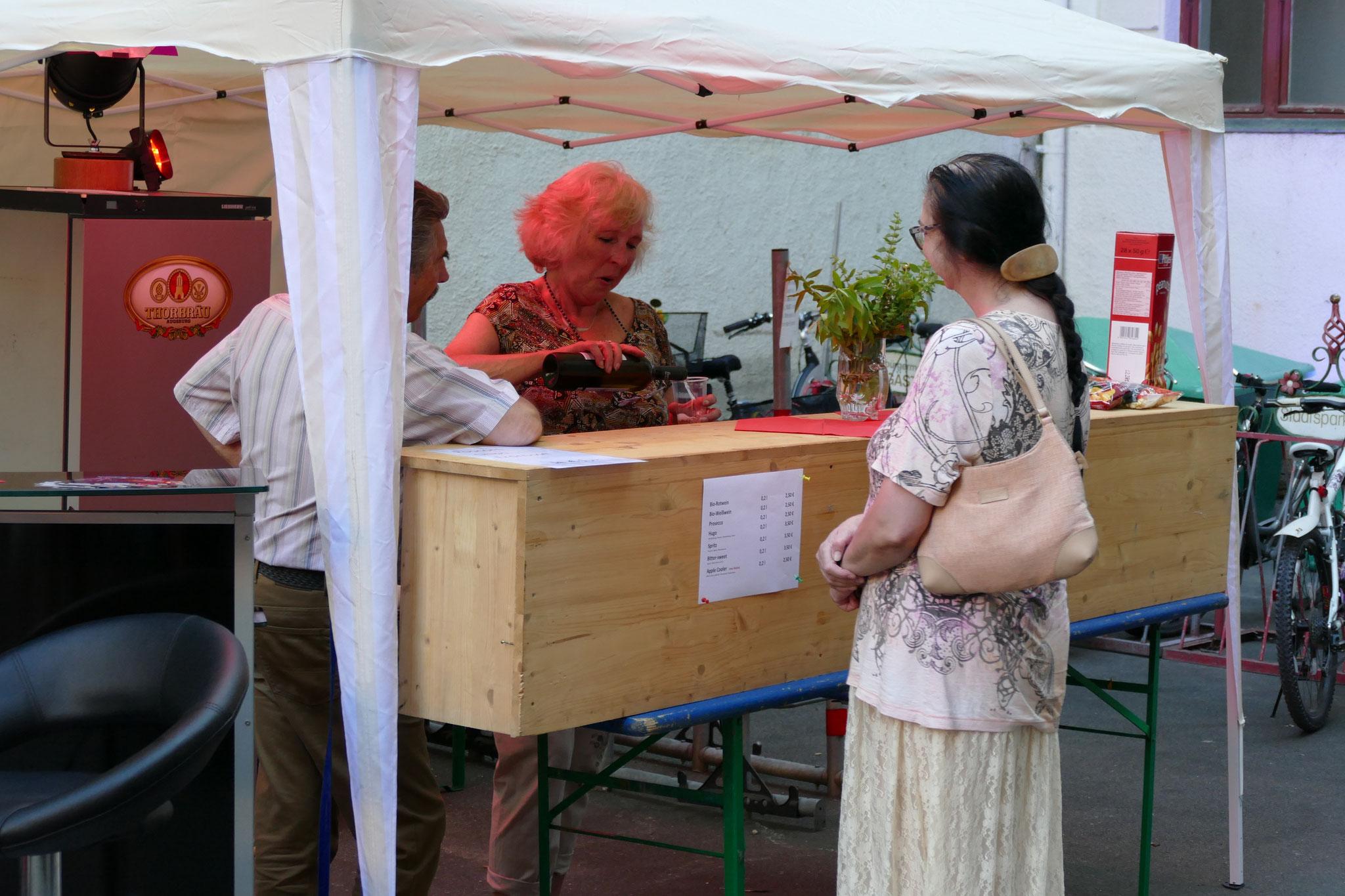 Konzerte im Bürgerhof 06.07.17 - Freiwilligen-Zentrum Augsburg - Foto: Christoph Urban