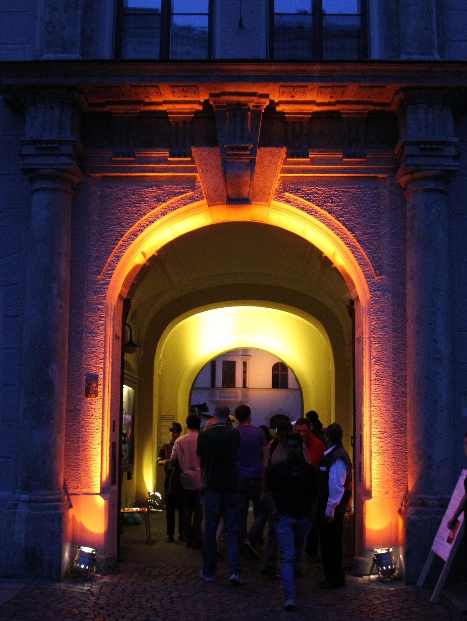 Konzerte im Bürgerhof 21.06.2012 - Freiwilligen-Zentrum Augsburg - Foto: Franz Lechner