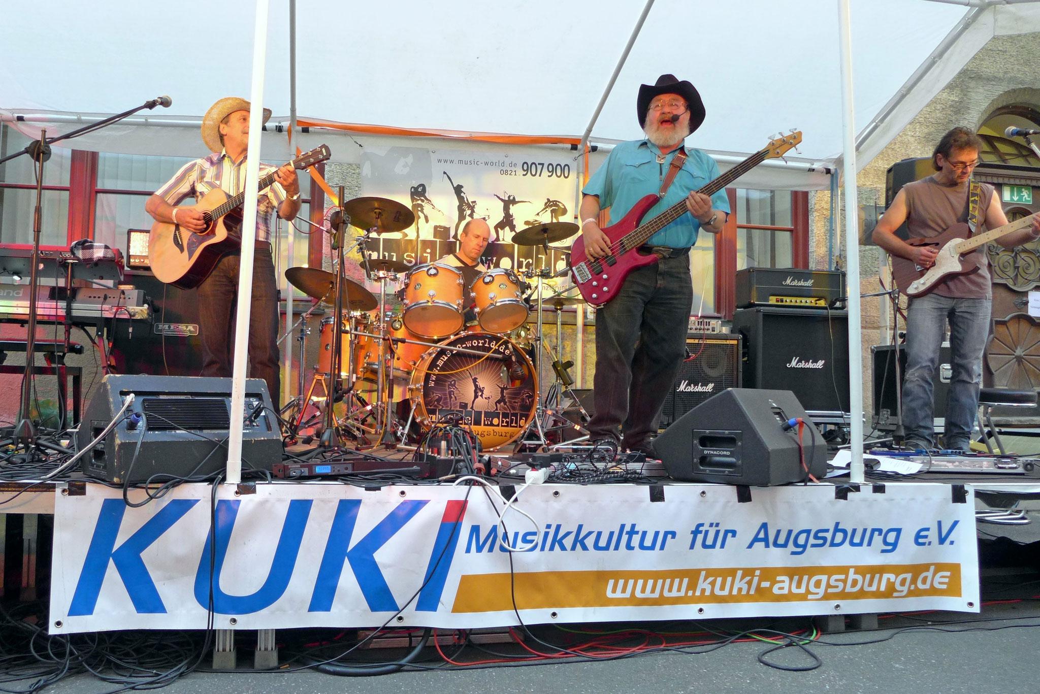 Konzerte im Bürgerhof 03.07.15 Pick up Ramblers - Freiwilligen-Zentrum Augsburg - Foto: Christoph Urban