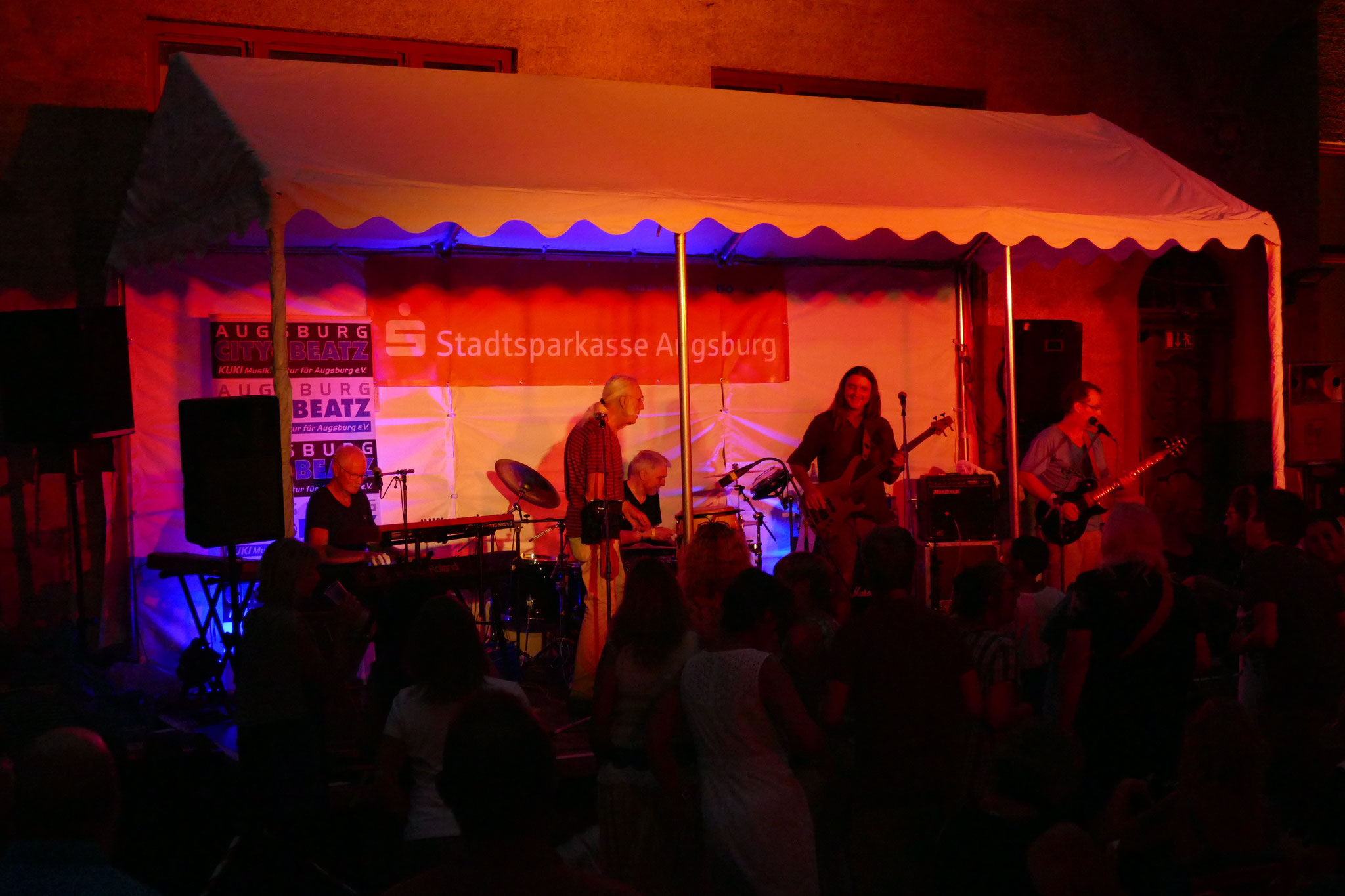 Konzerte im Bürgerhof 07.07.17 Sunday in Jail - Freiwilligen-Zentrum Augsburg - Foto: Christoph Urban