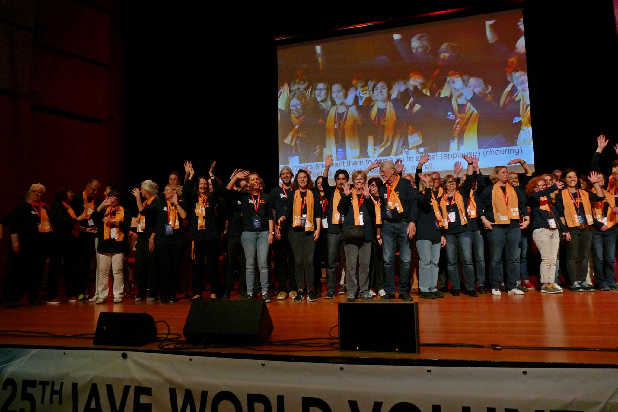 25. IAVE Welt-Freiwilligenkonferenz vom 16. bis 20. Oktober 2018 in Augsburg - Eine große Ehre für uns!