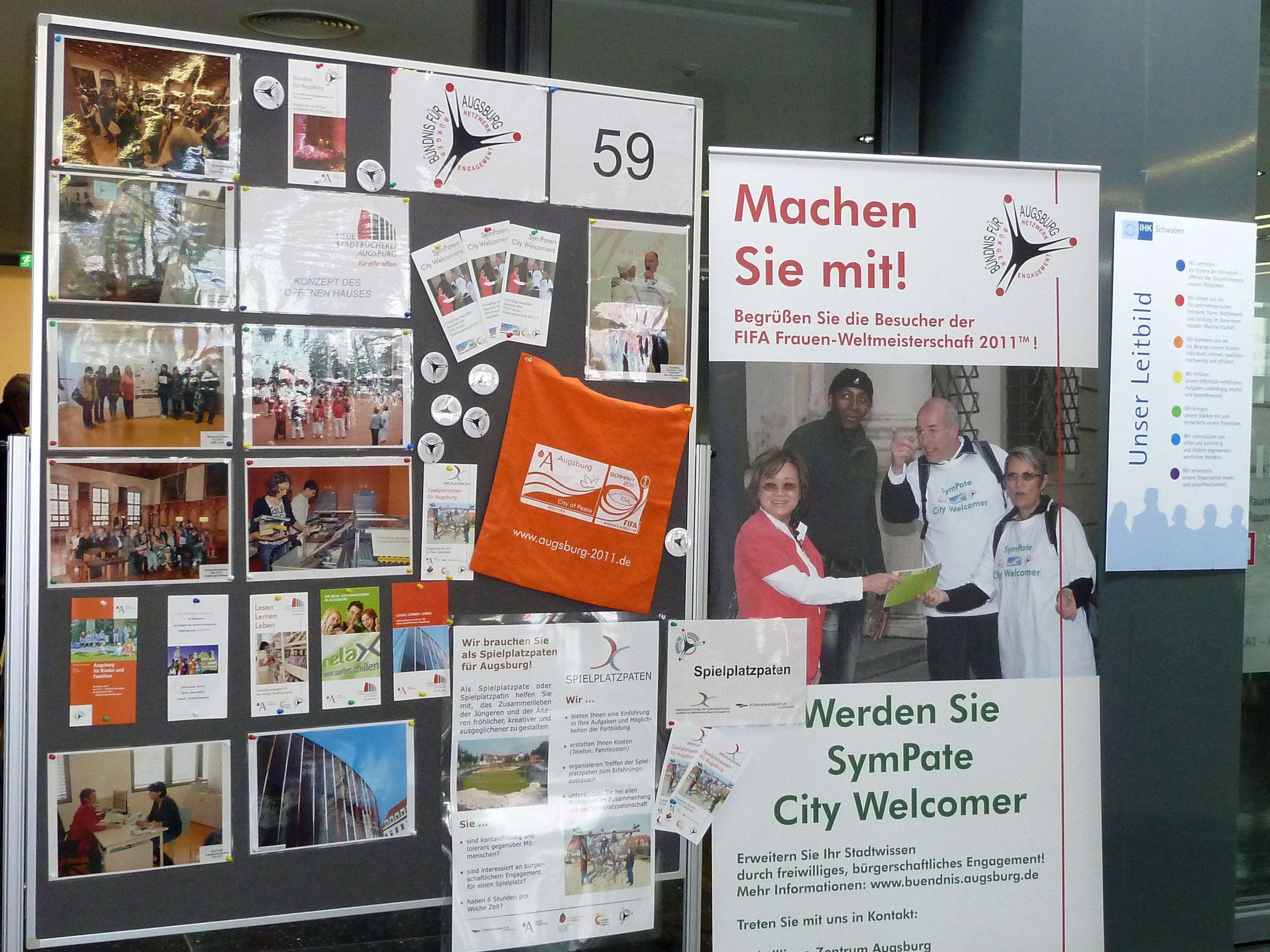 1. Augsburger Freiwilligen-Messe 2011 - Foto: Sabine Nölke-Schaufler