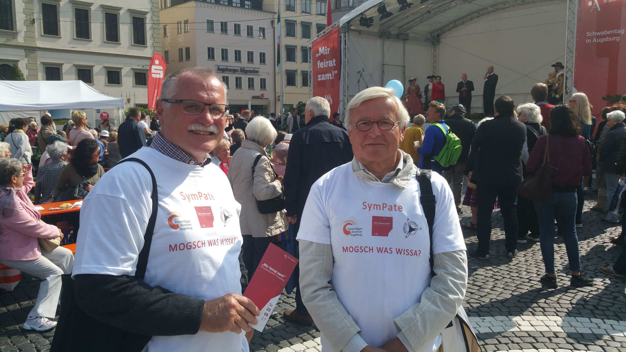 SymPaten - Schwabentag 2017 - Foto: Wolfgang F. Lightmaster - Freiwilligen-Zentrum Augsburg
