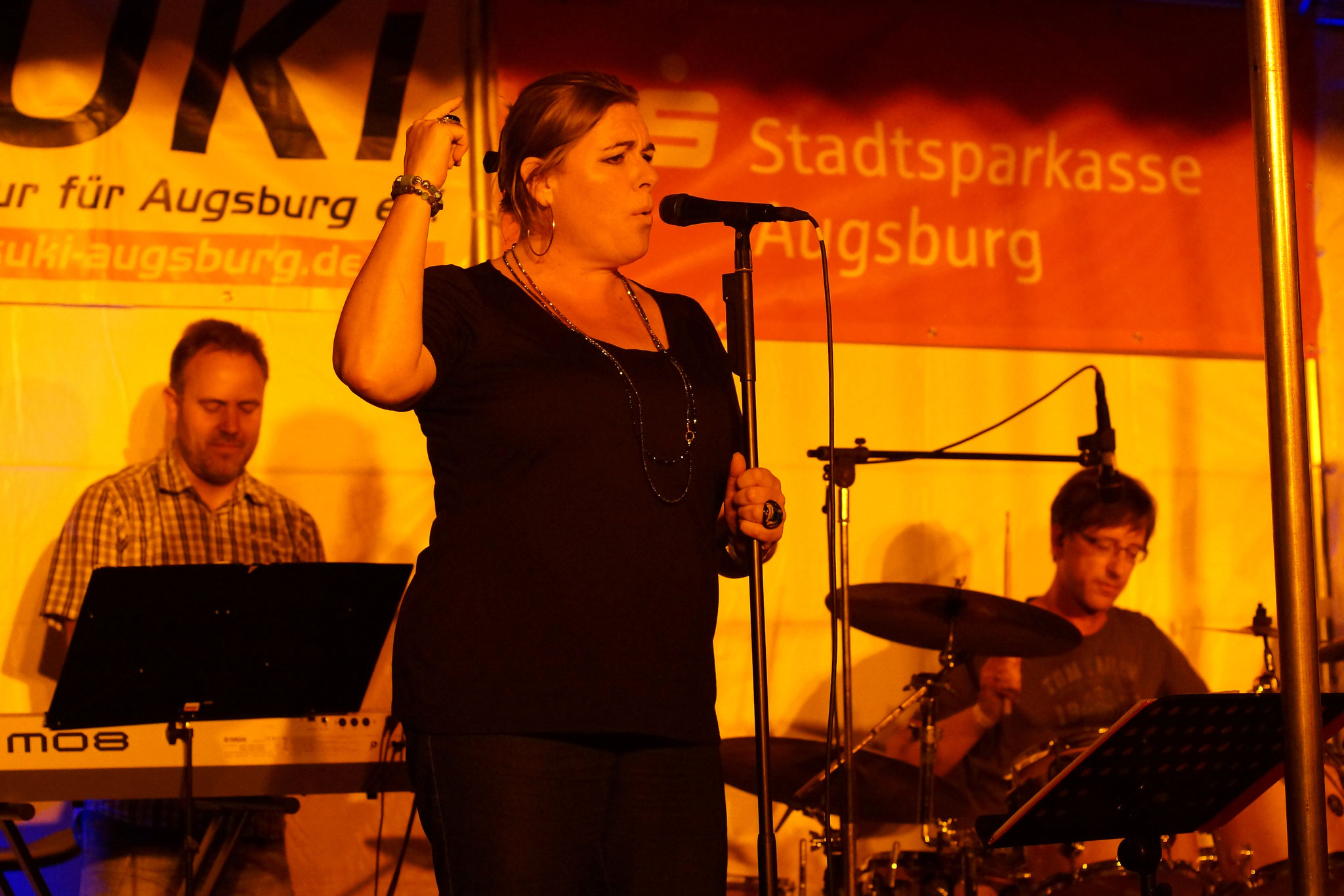 Konzerte im Bürgerhof 09.07.16 wakafunka - Freiwilligen-Zentrum Augsburg - Foto: Crayfish