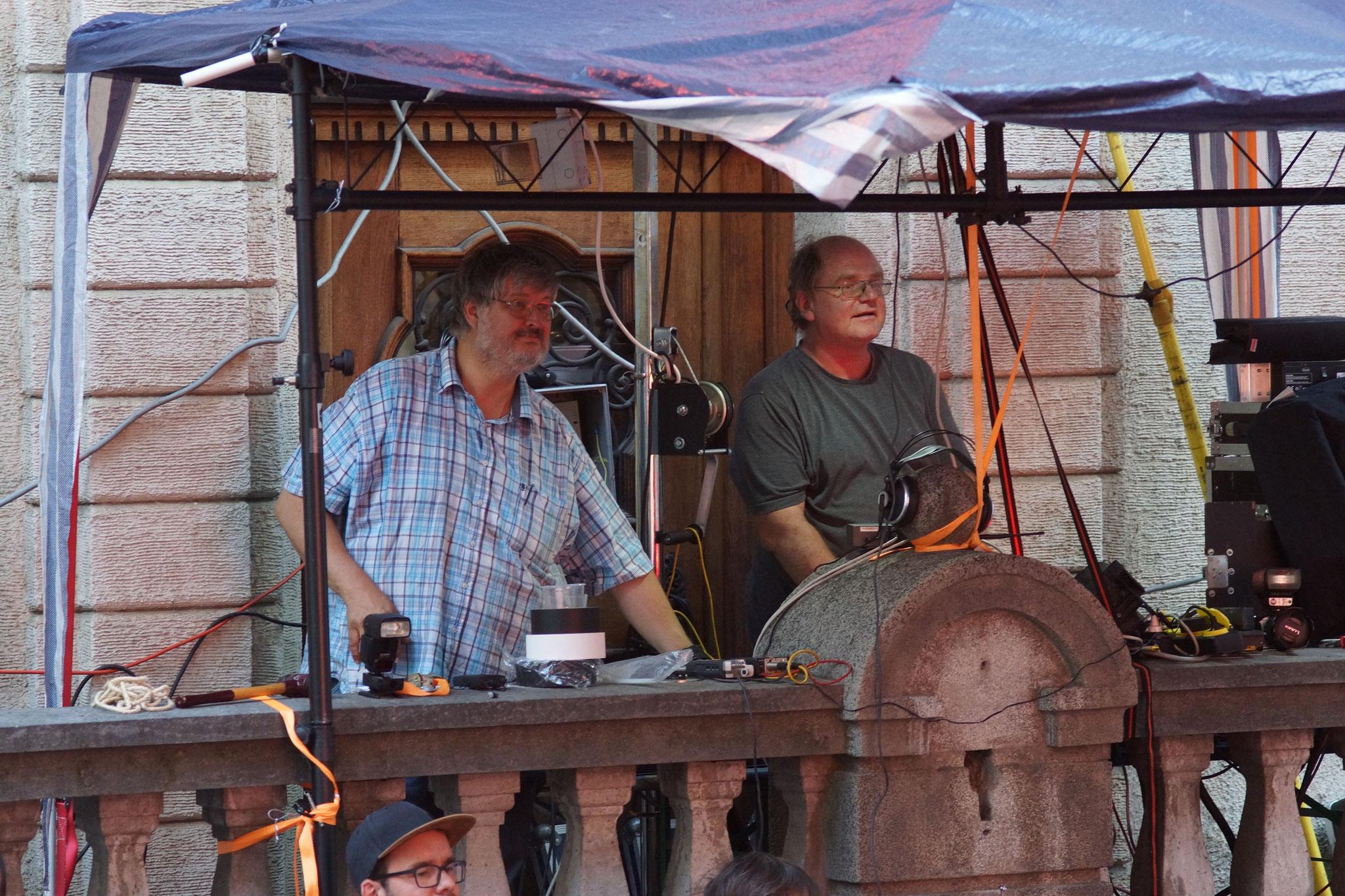 Konzerte im Bürgerhof 06.07.17 Daniel Ackermann / Robert Hösle - Freiwilligen-Zentrum Augsburg - Foto: Crayfish