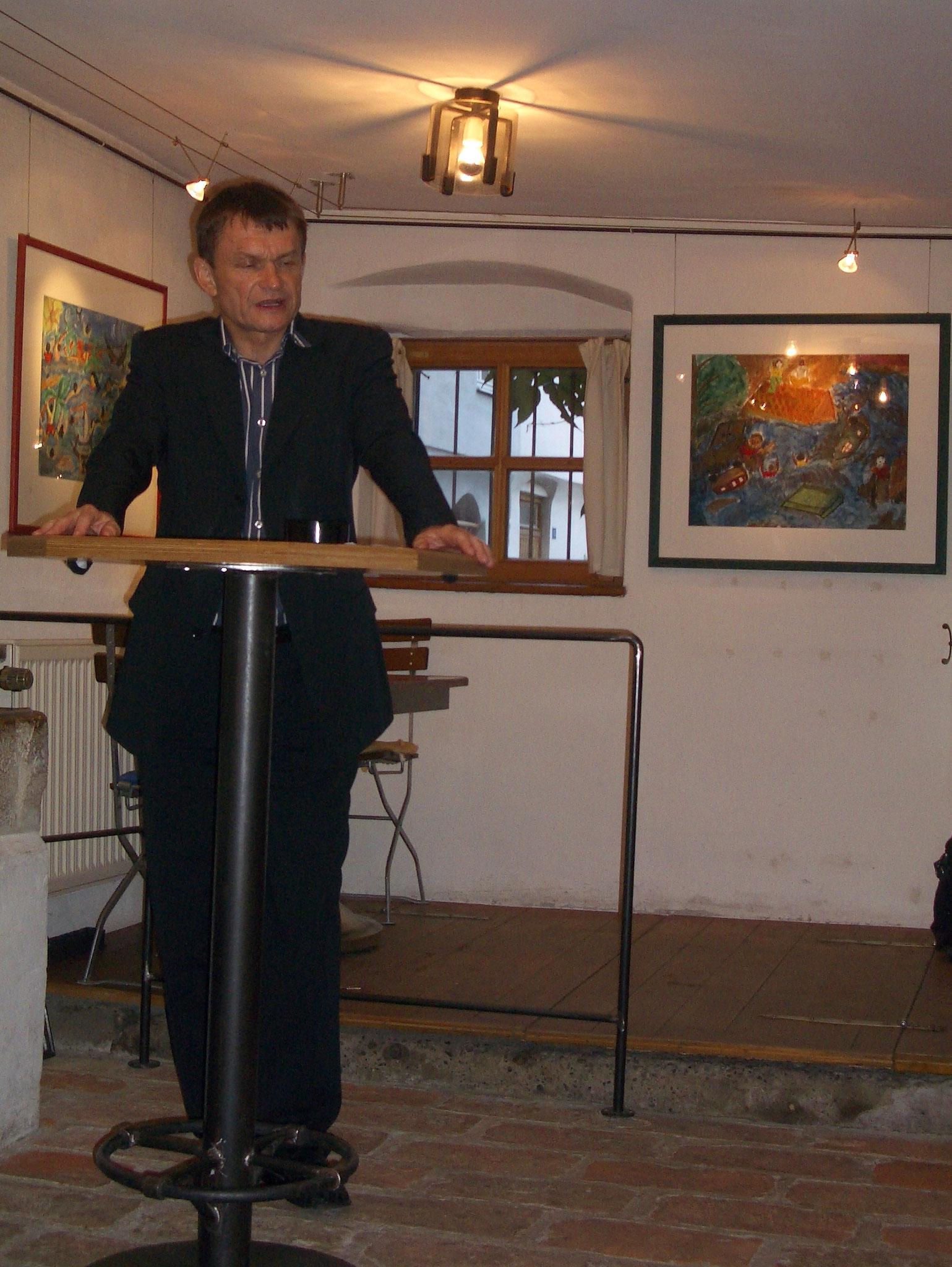 Freiwilligen-Zentrum Augsburg - Tsunami-Wanderausstellung 2005 Galerie Schröder - Foto: Wolfgang F. Lightmaster