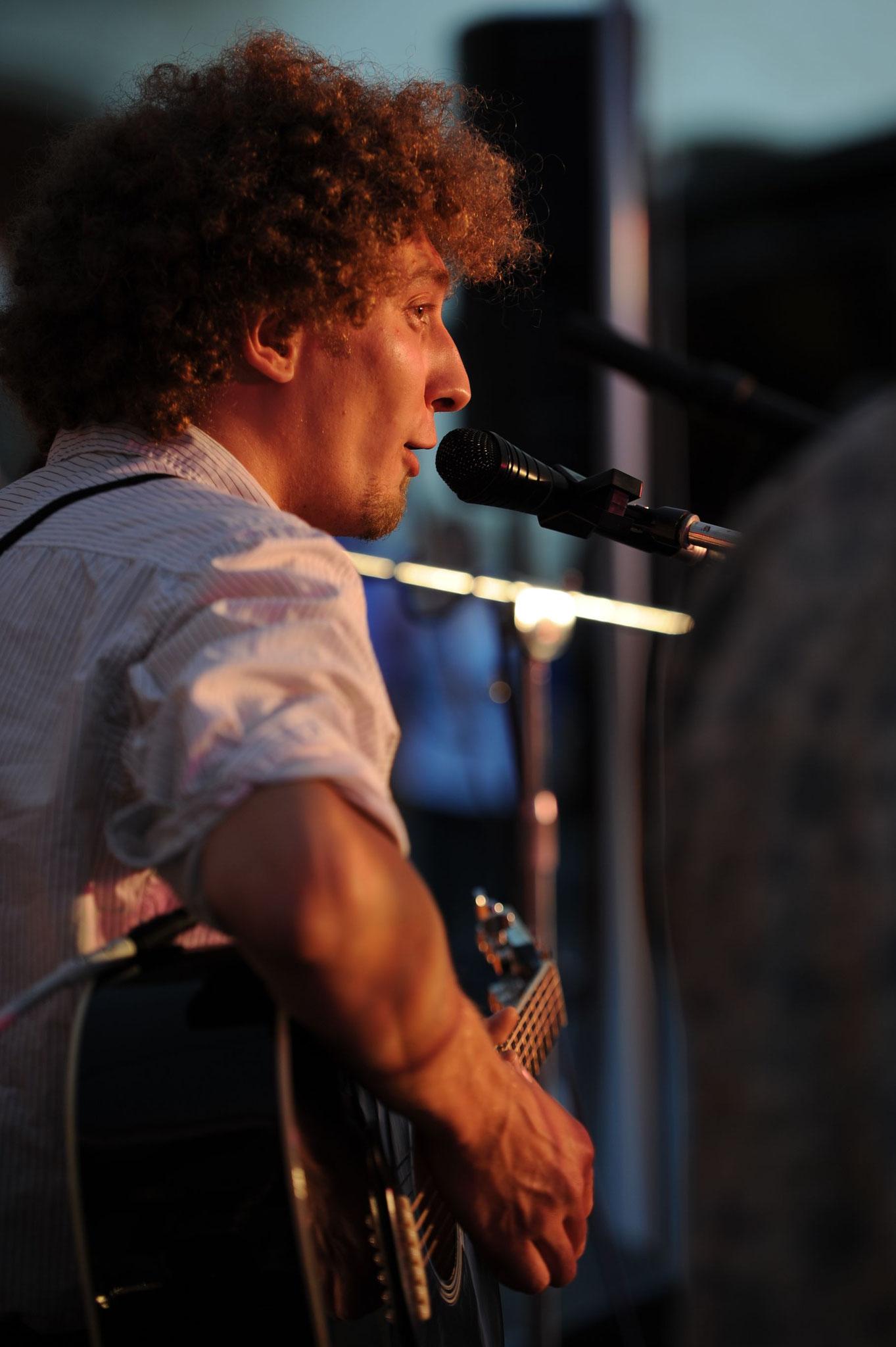Konzerte im Bürgerhof 21.06.2012 Bossanogo - Freiwilligen-Zentrum Augsburg - Foto: Philipp Rein