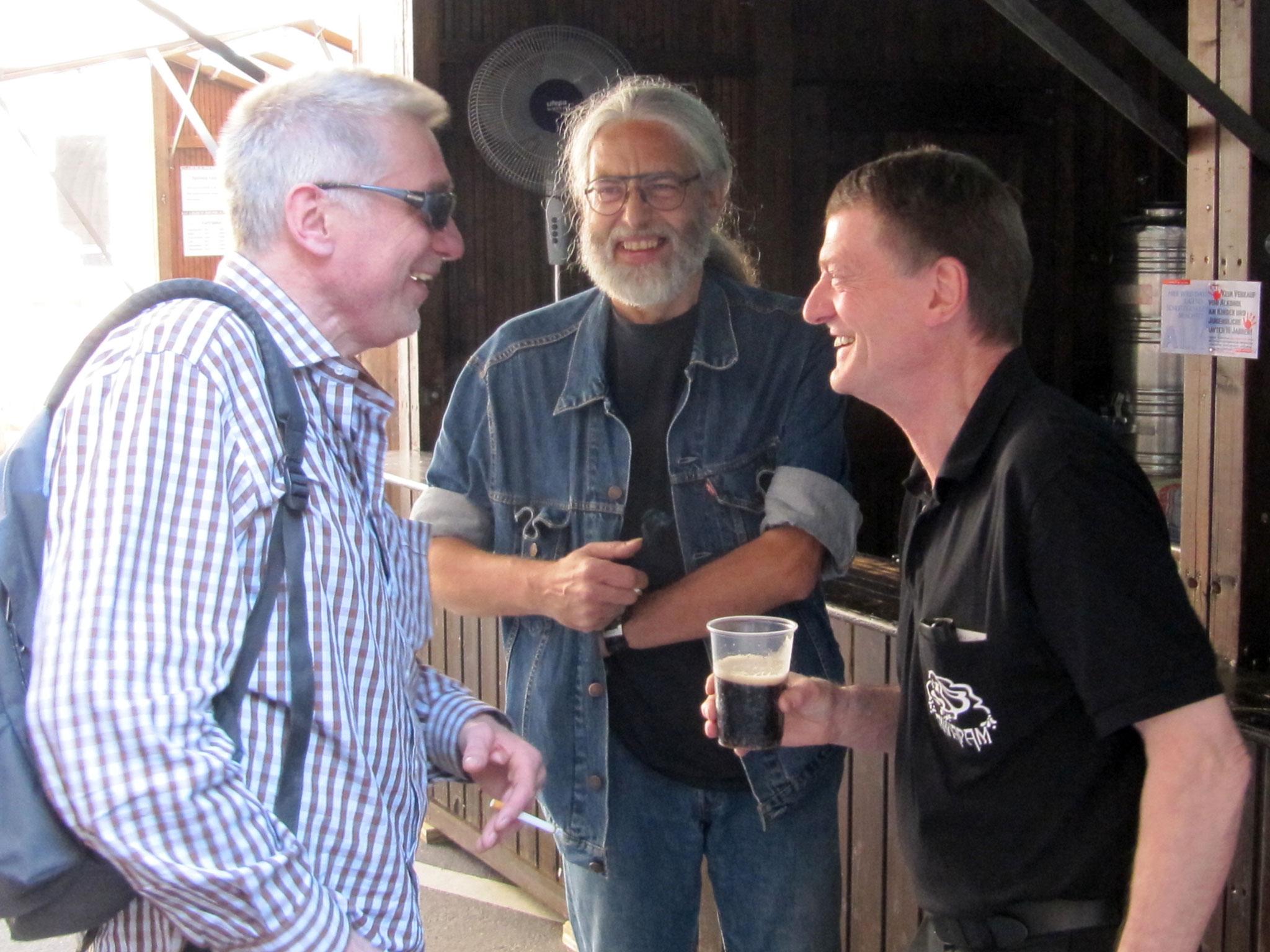 Konzerte im Bürgerhof 24.06.10 Gebhardt, Lightmaster, Sommitsch - Freiwilligen-Zentrum Augsburg - Foto: Rolf Schönberger
