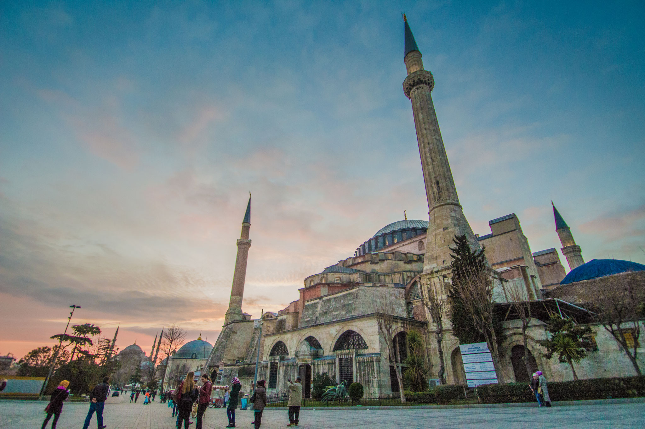 Hagia Sophia, Istanbul. January 2016.