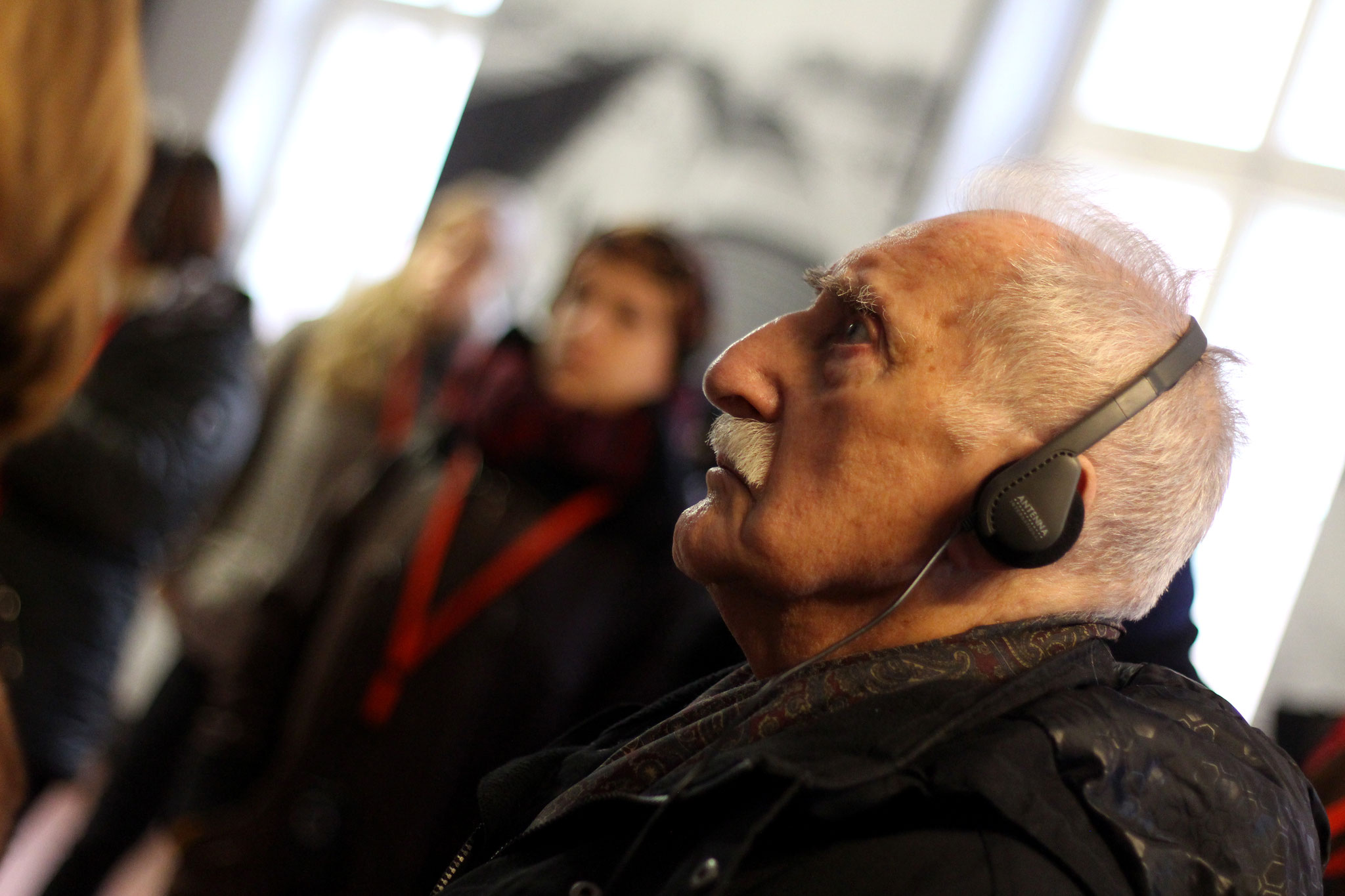 Leon Weintraub, Auschwitz survivor and Polish doctor. January 2015.