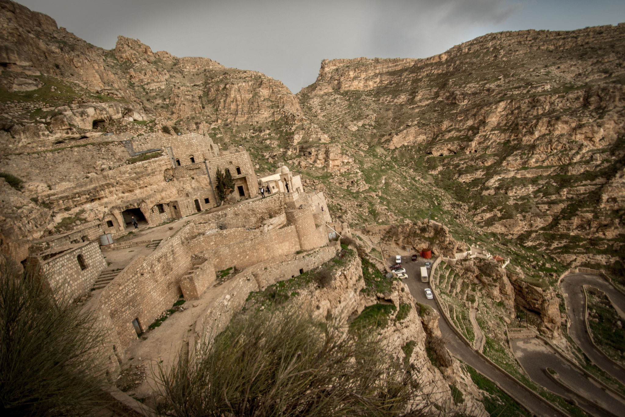 Alqosh monastery. Iraqi Kurdistan. March 2017.