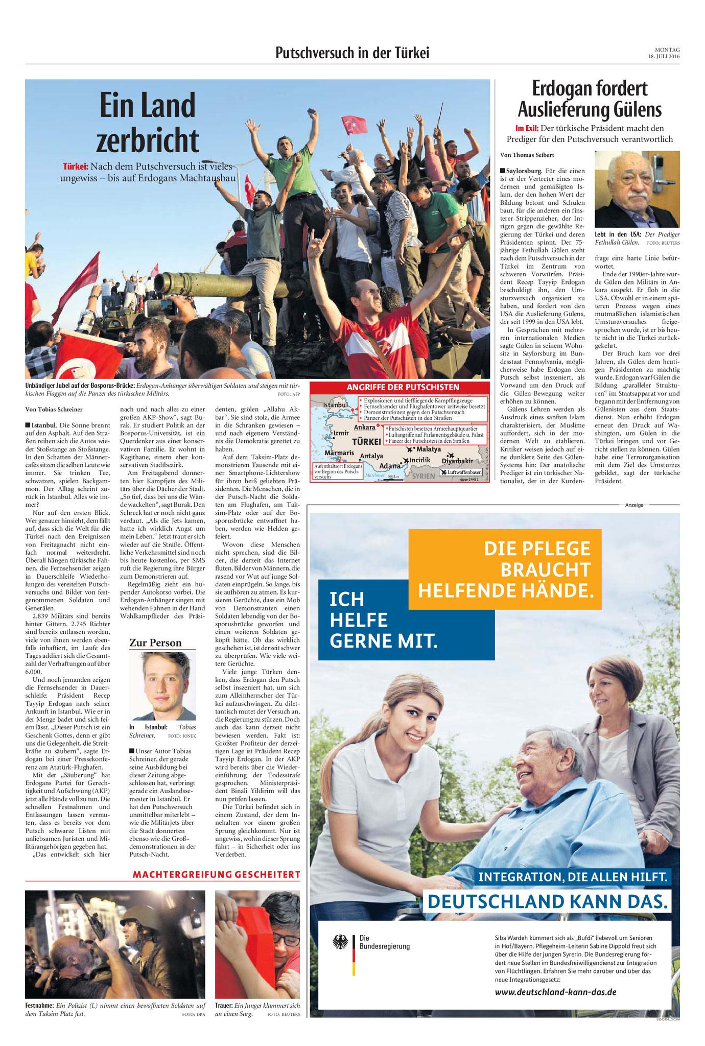 Neue Westfälische, [18.07.2016].  Texte und Fotos aus der Neuen Westfälischen sind urheberrechtlich geschützt.  Weiterverwendung nur mit schriftlicher Genehmigung der Redaktion.