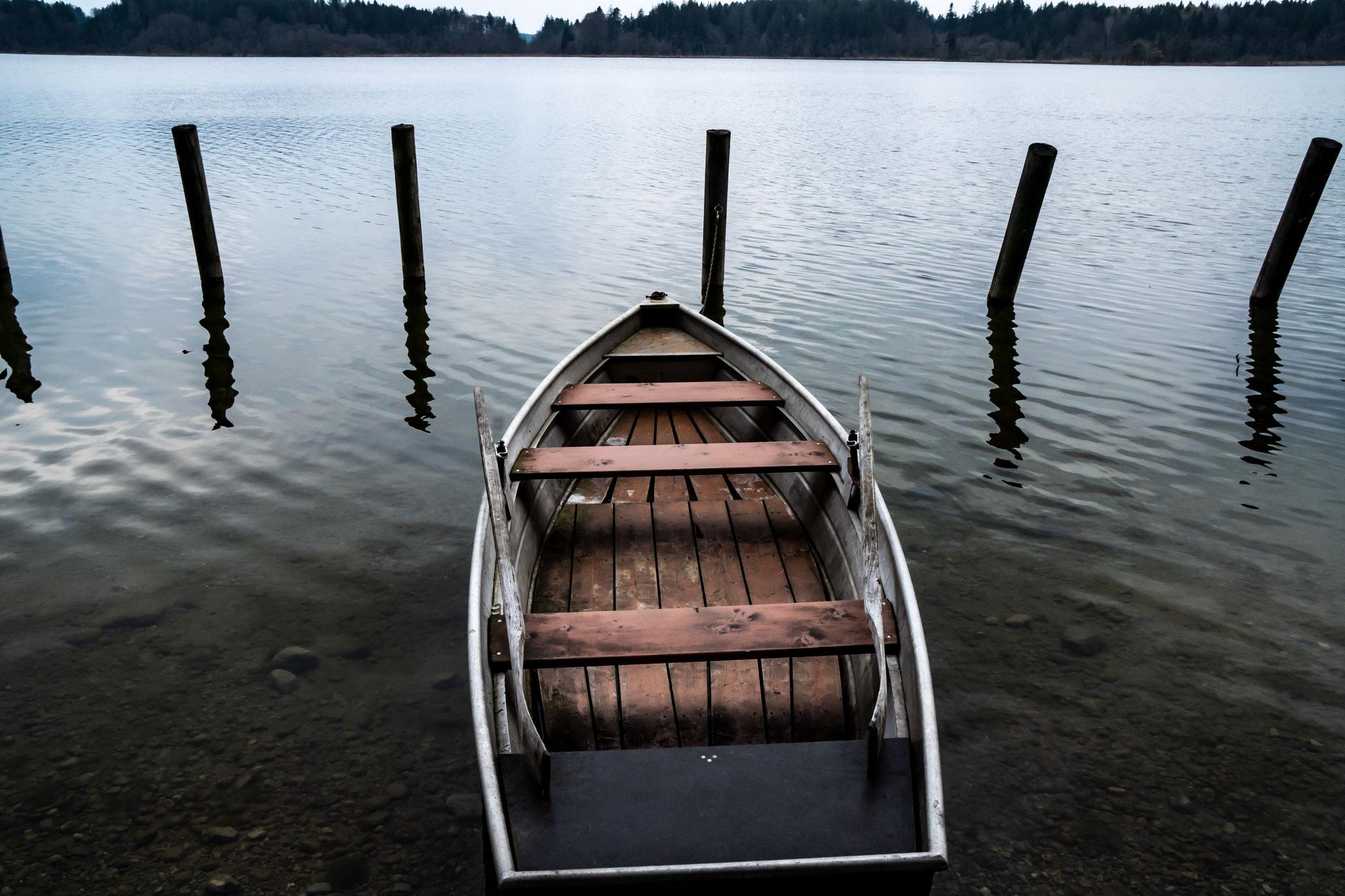 Anlegestelle am Hartsee