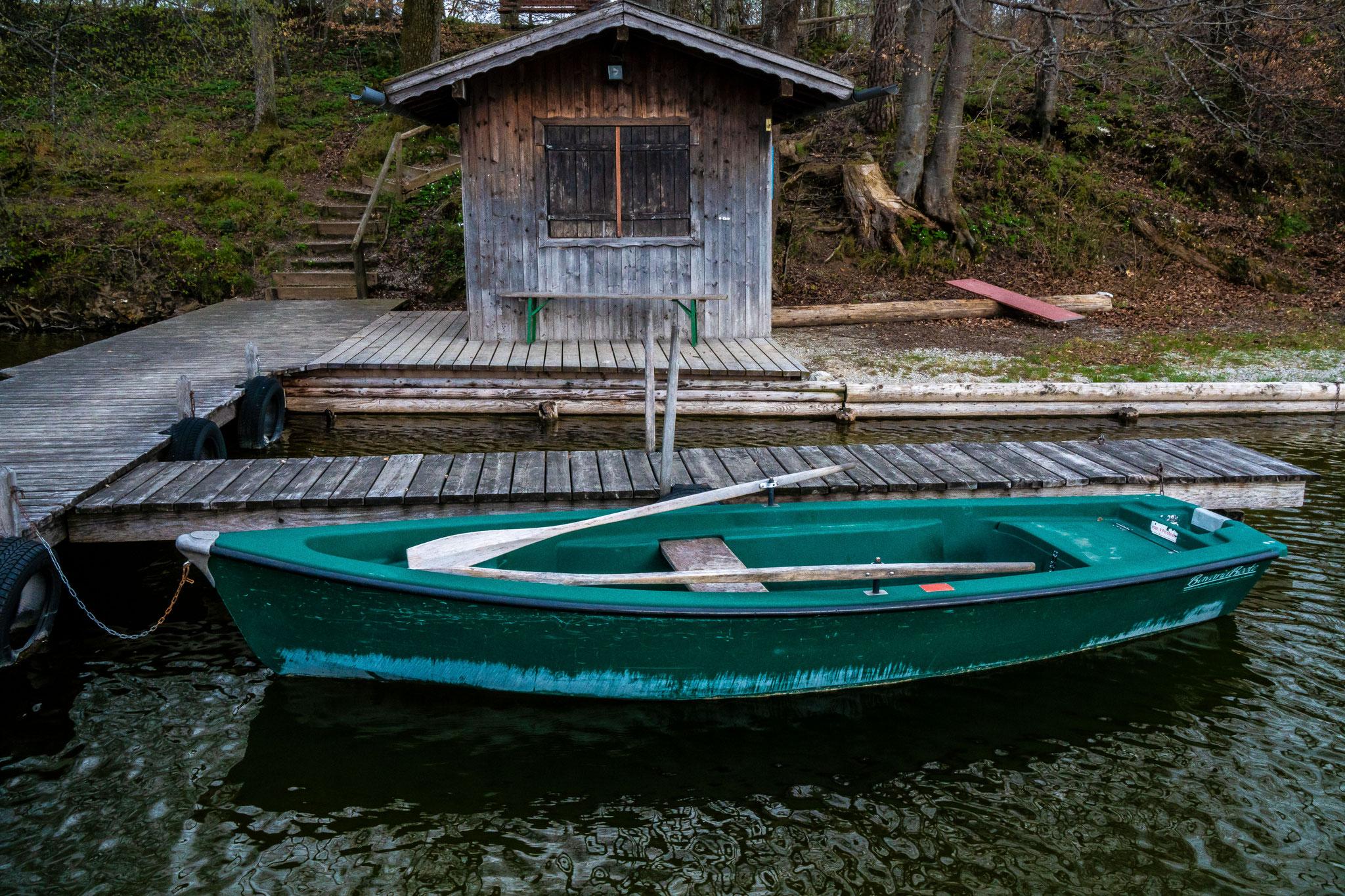 Bootshaus am Hartsee