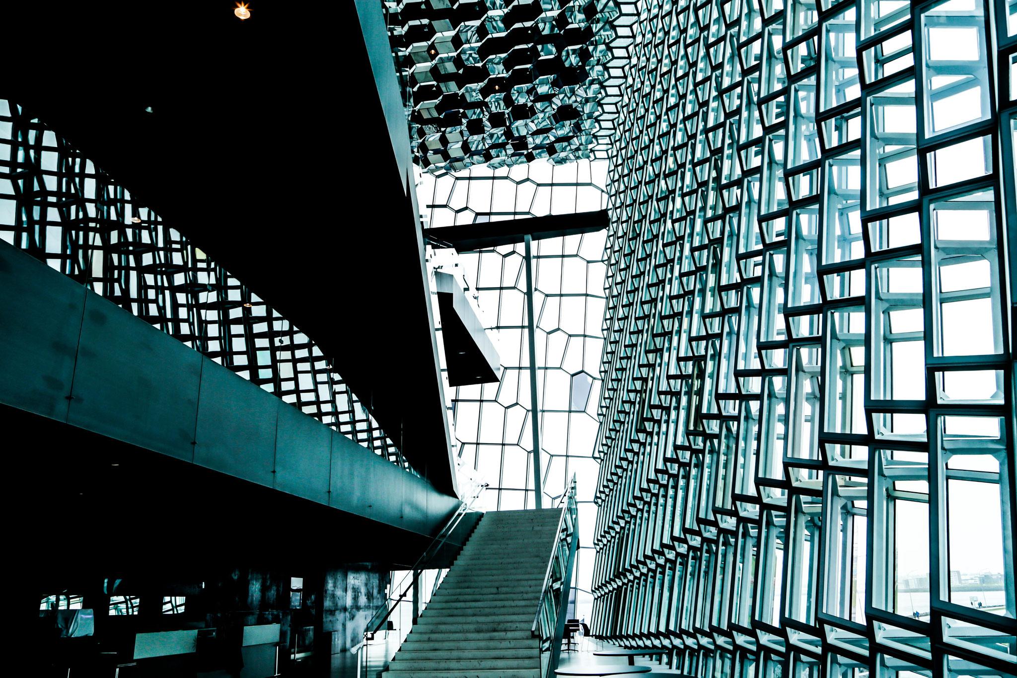 Reykjavik - Konzert- und Kongresshalle Harpa, 2011 eröffnet