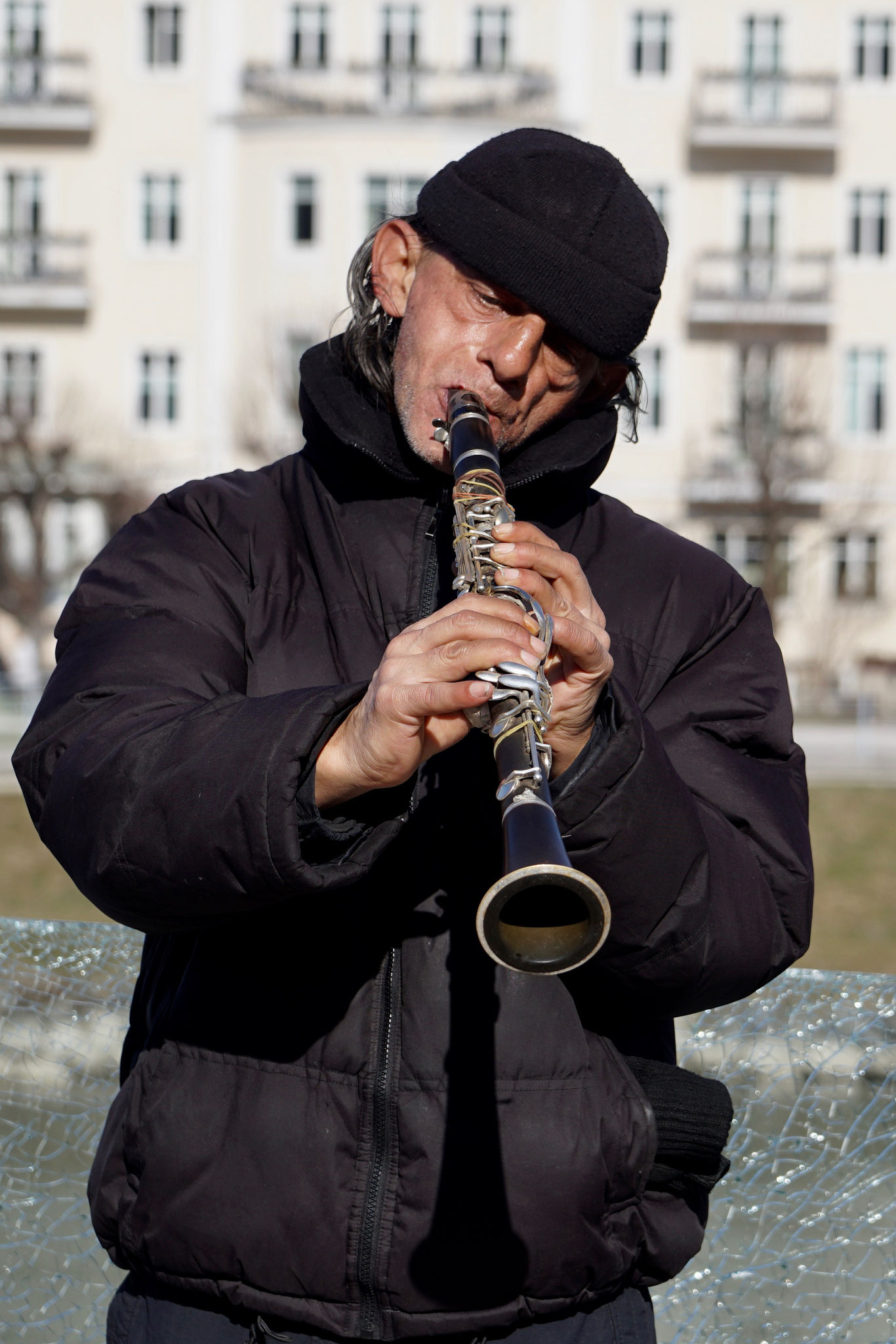 Straßenmusiker in Salzburg