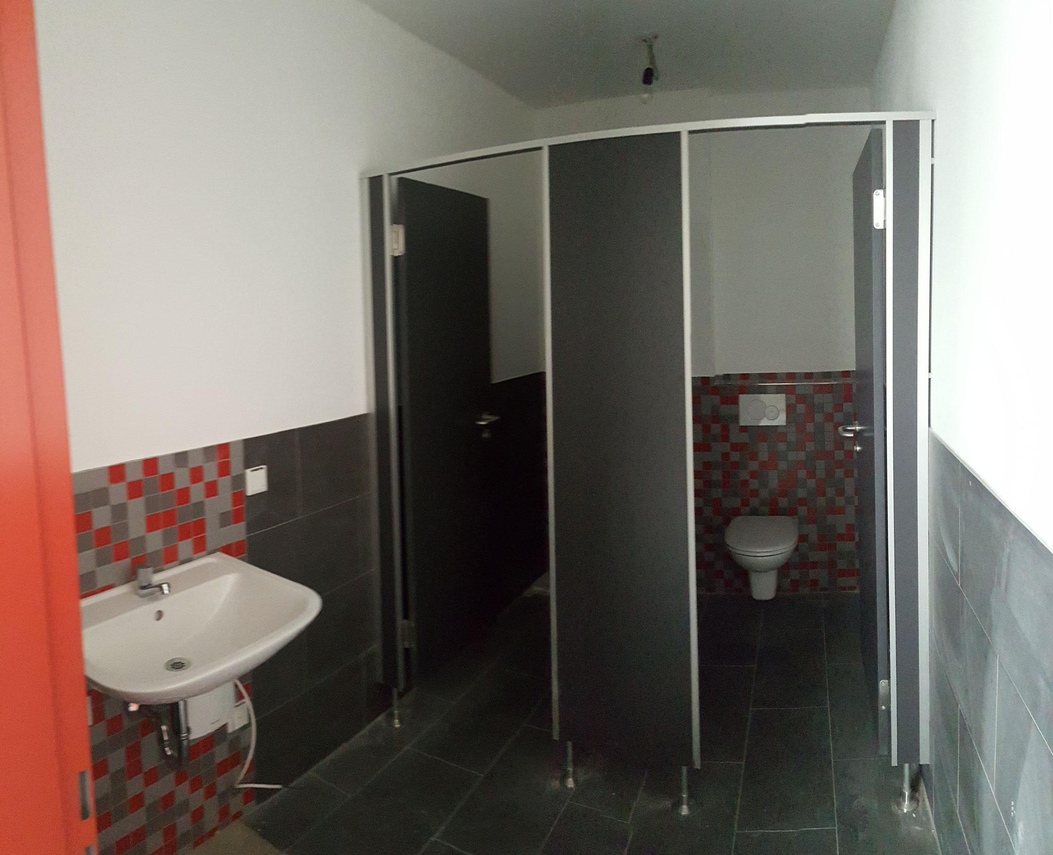 Toiletten Damen (Panoramabild)