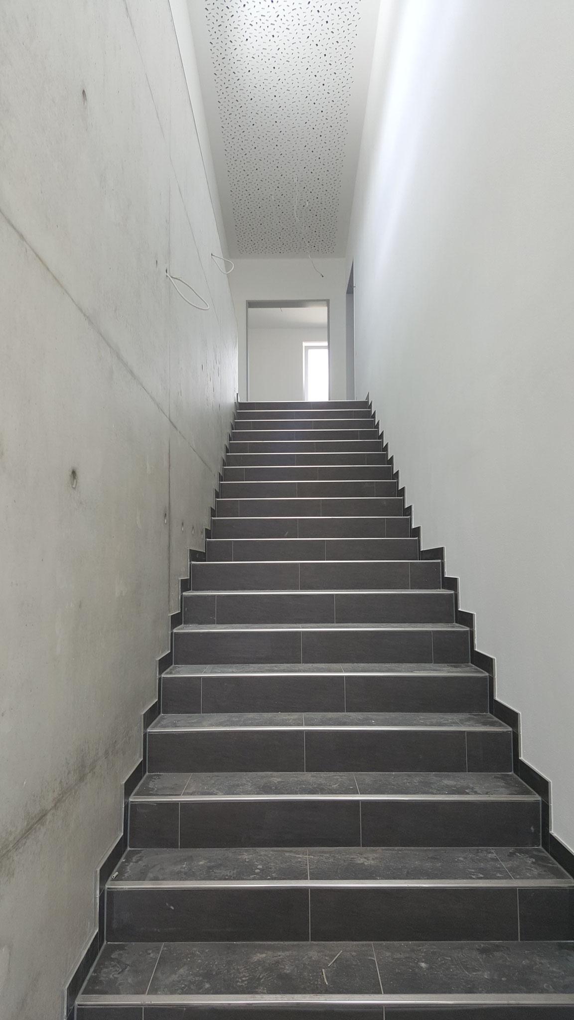 Treppe in 1. Stock