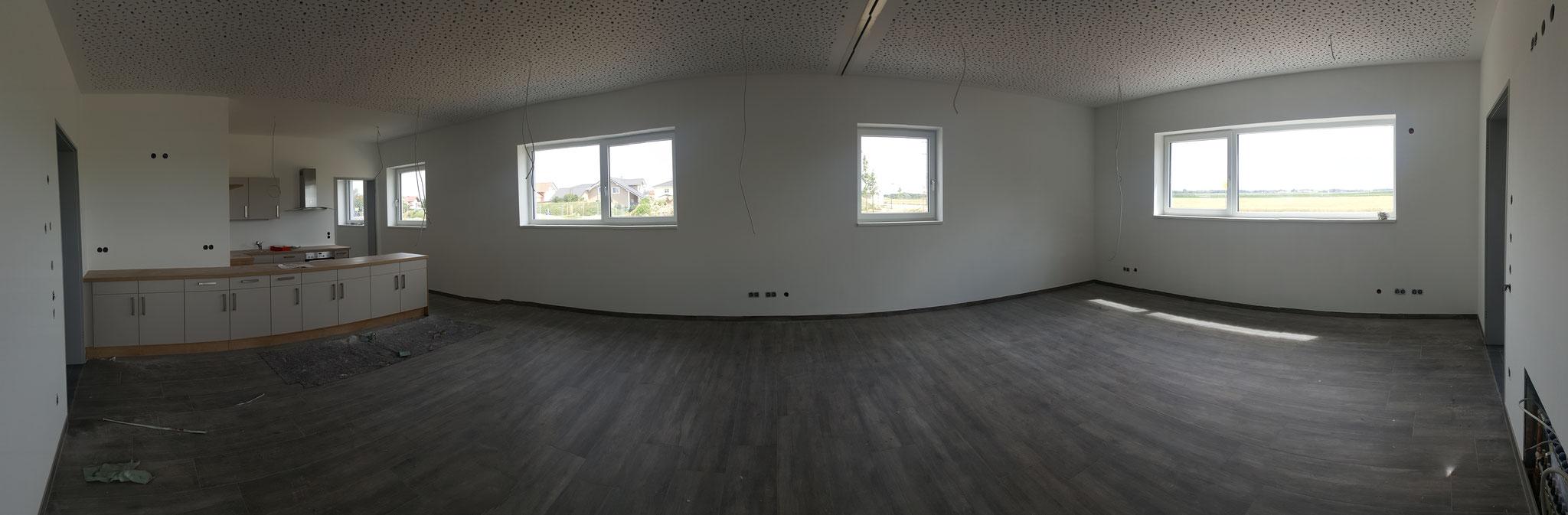 Küche und Abtrennbarer Jugendraum (Panoramabild)