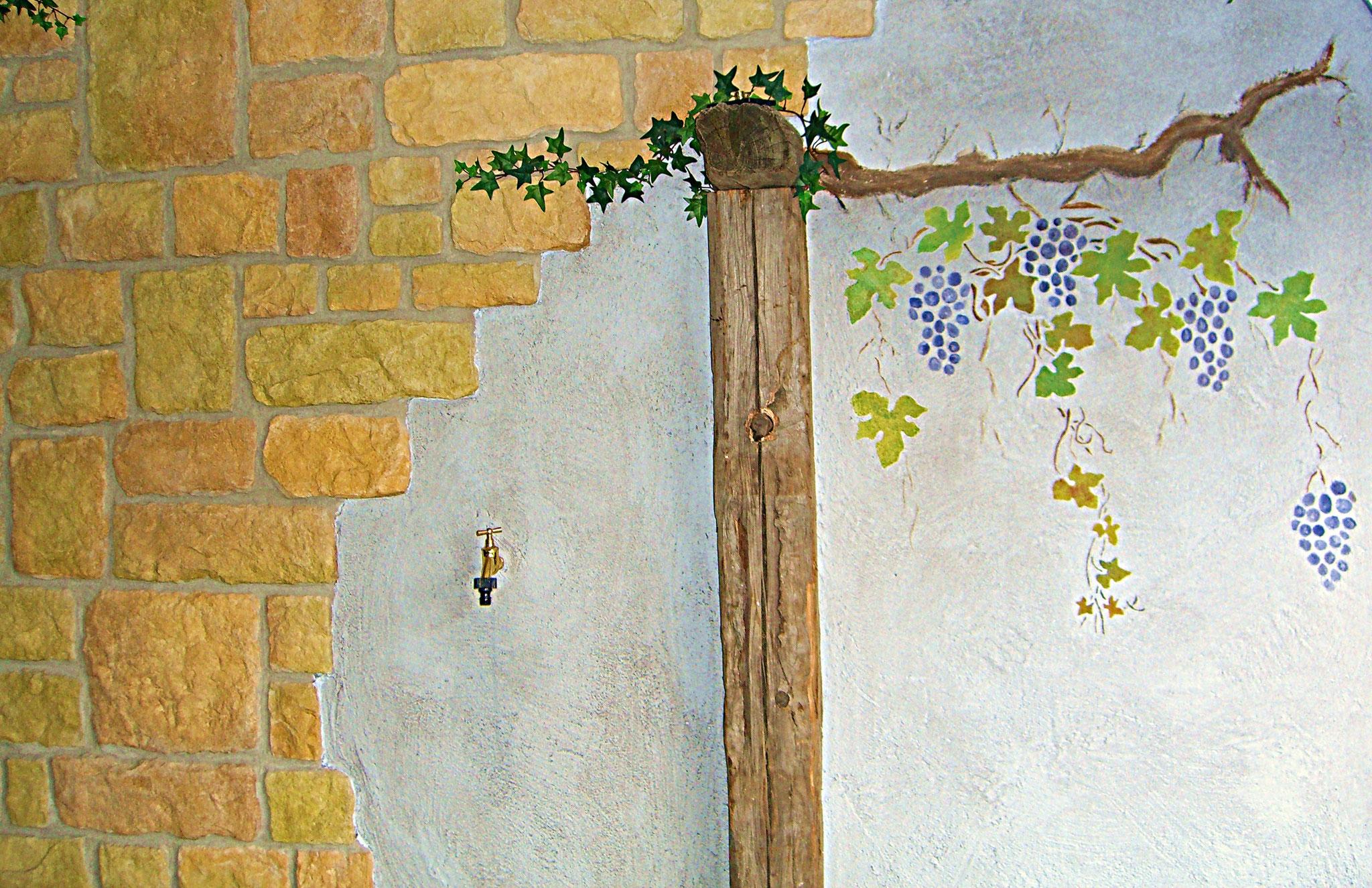 Wandmalerei - Malerei Wagner Persenbeug
