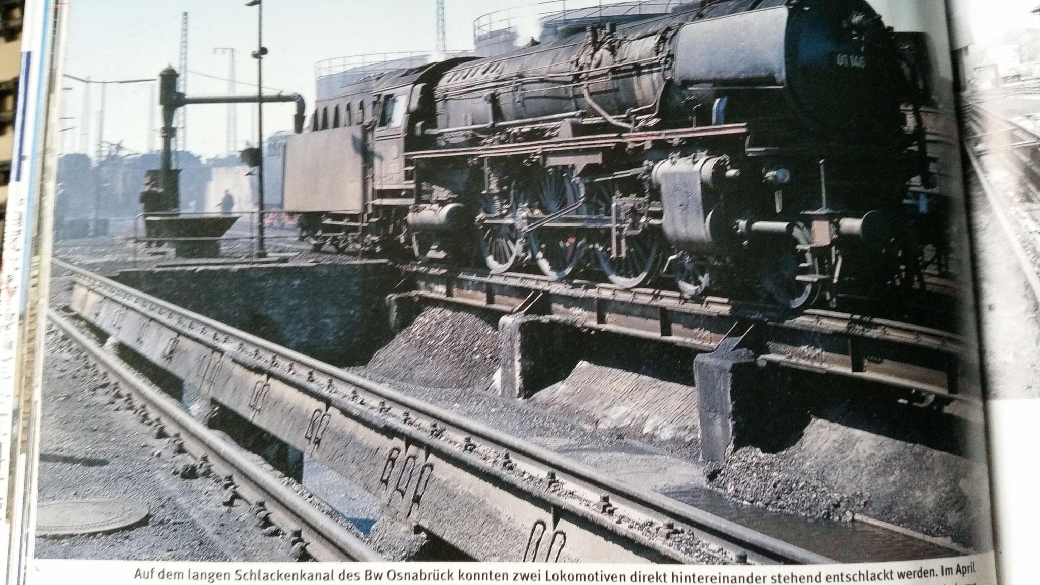 ... und das Vorbildfoto der gesamten Schlackegrube. Es gibt noch viel zu tun :) Quelle: Martin Weltner - Bahnbetriebswerke - Geschichte/Technik/Gleispläne, Verlag: GeraMond, ISBN: 978-3-7654-7278-7