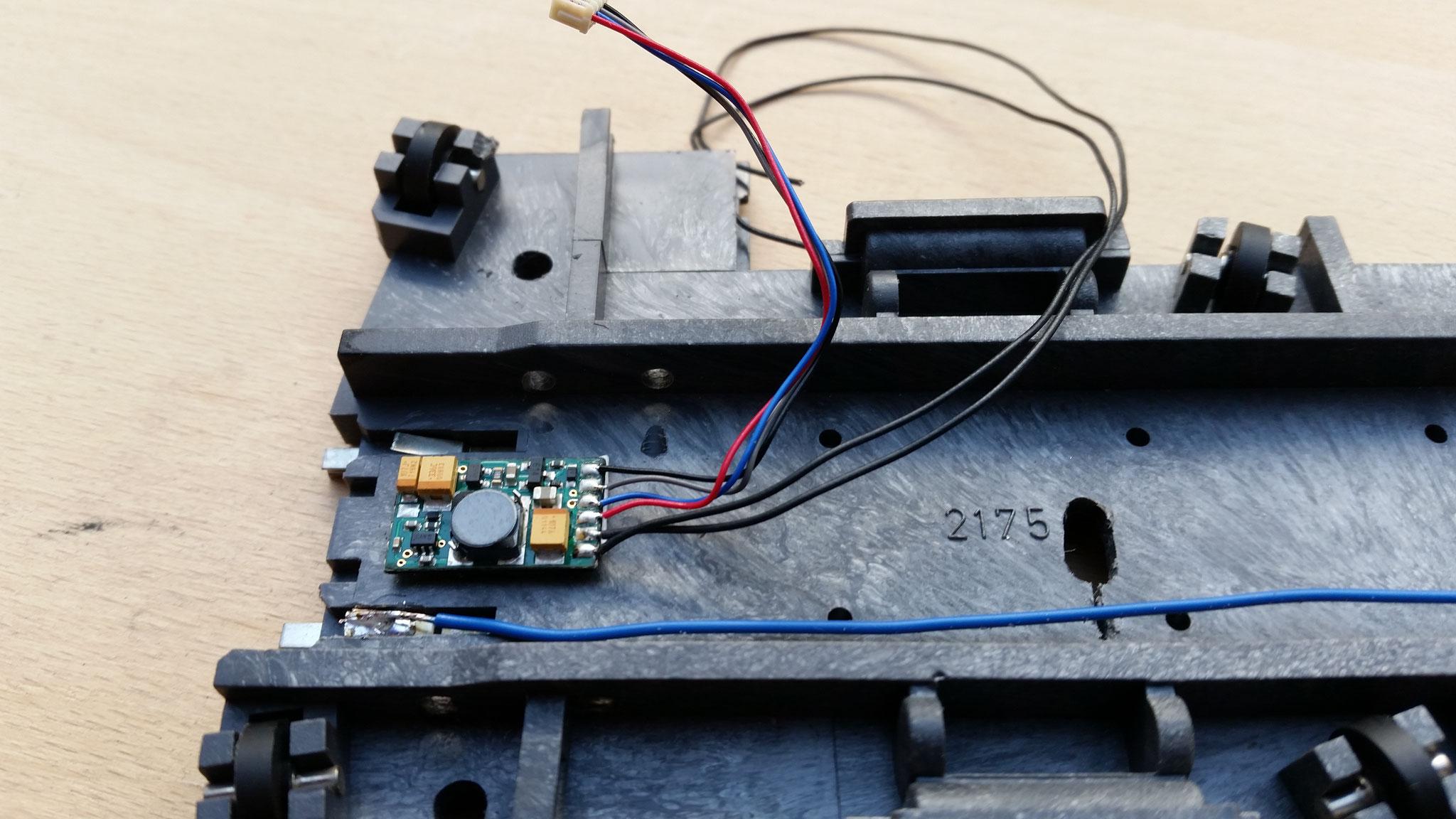 Sounddecoder mit Drehscheibensound