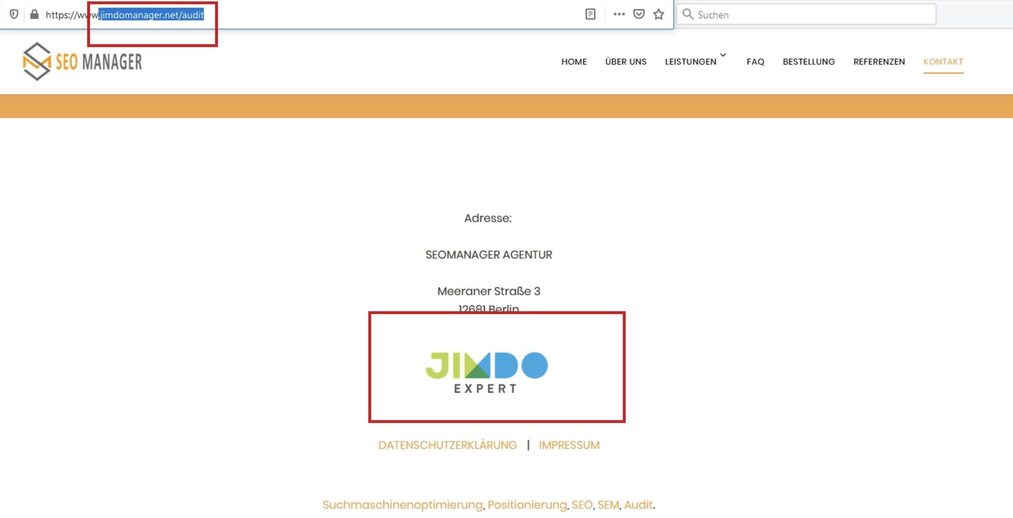 Erfahrungen mit jimdomanager.net - ein Spitzbube, Betrüger und Ganove der sich als Jimdo Expert ausgibt