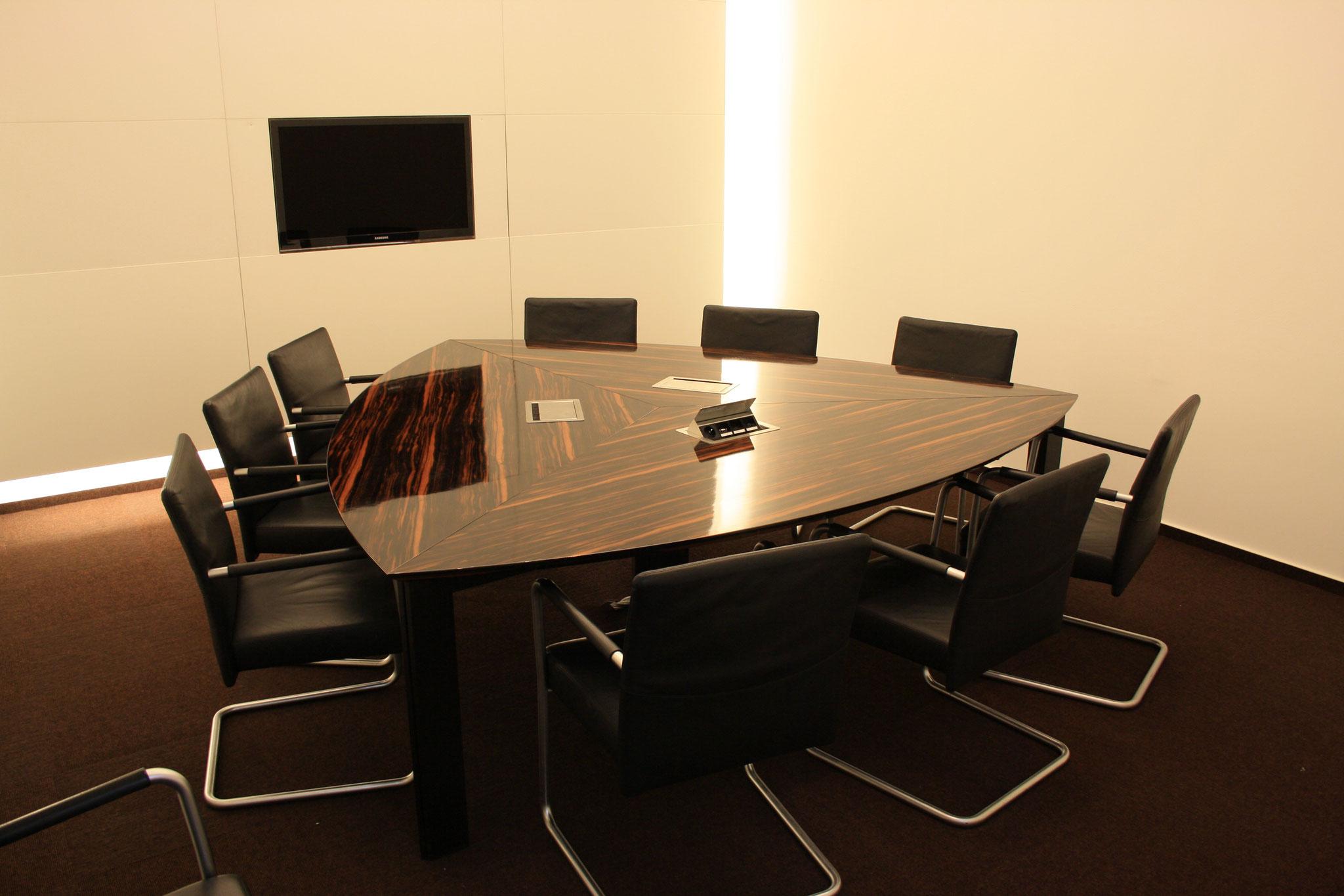 Konferenzraum einer Kanzlei in Heidelberg