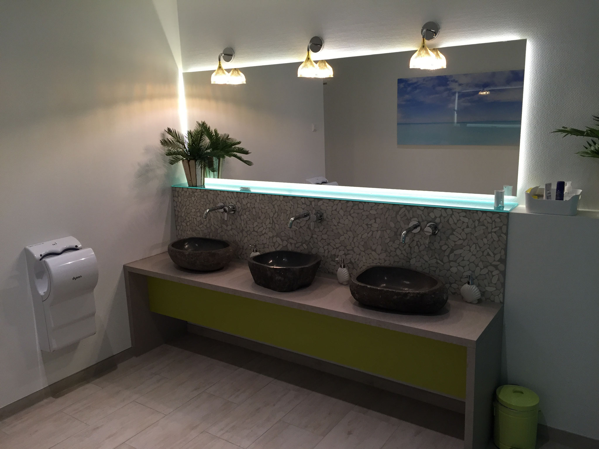 WC-Einrichtung einer Event-Location
