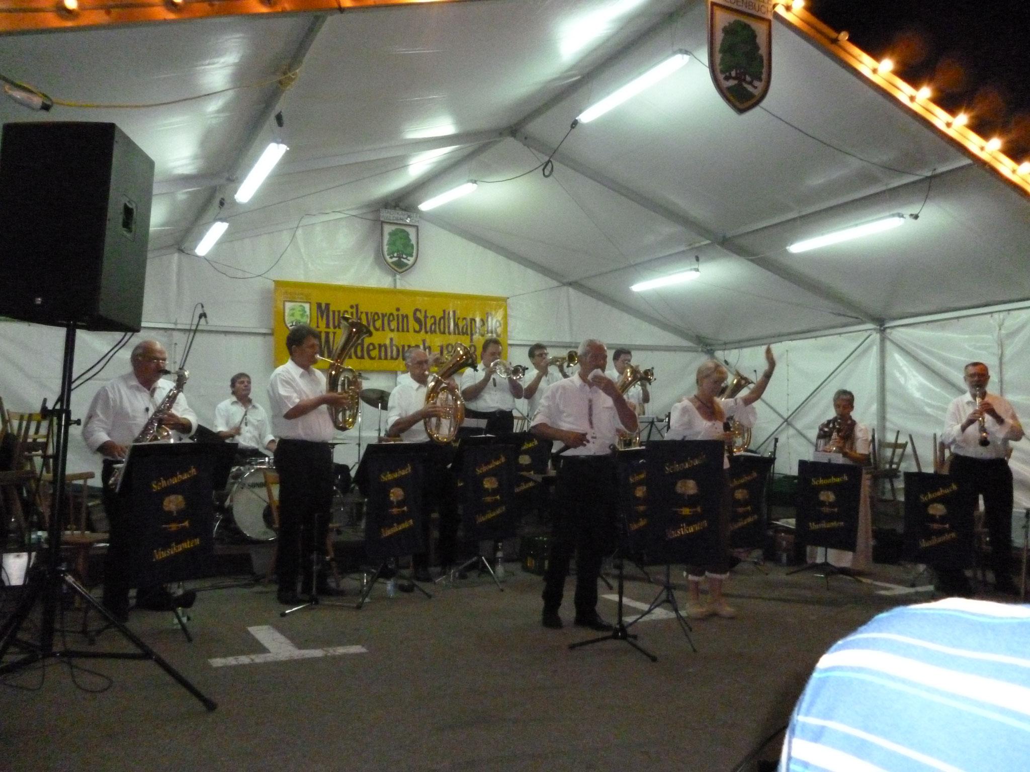 MV Waldenbuch Marktplatzfest 09.09.2012