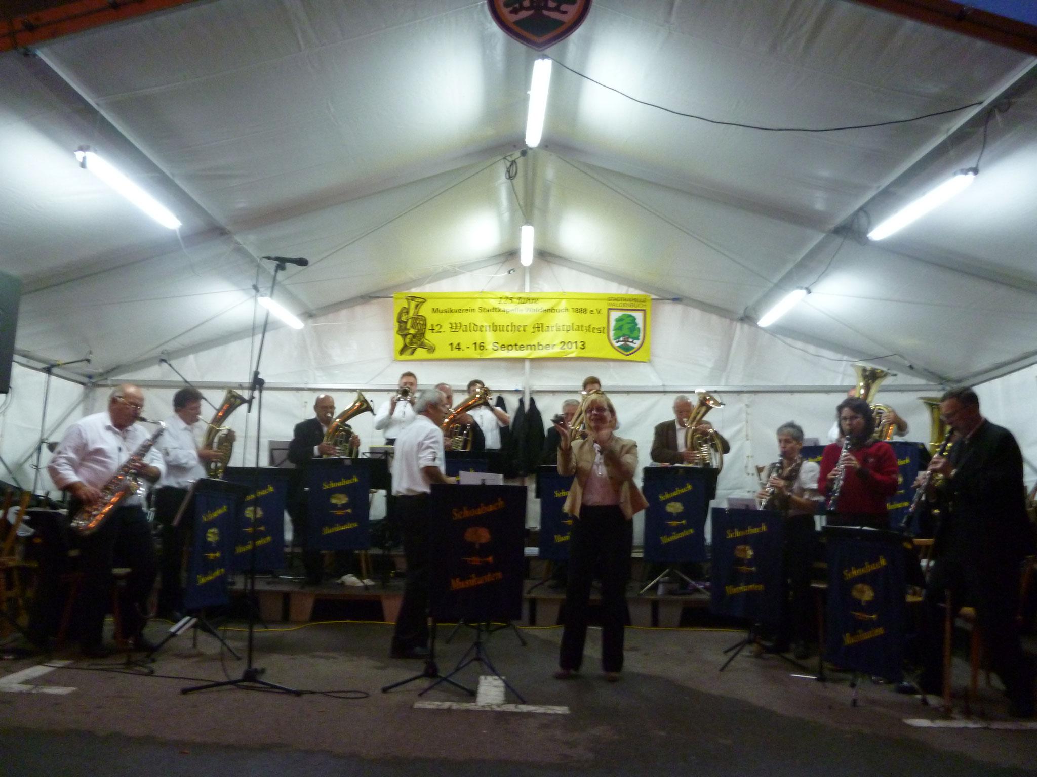 MV Waldenbuch Marktplatzfest 15.09.2013