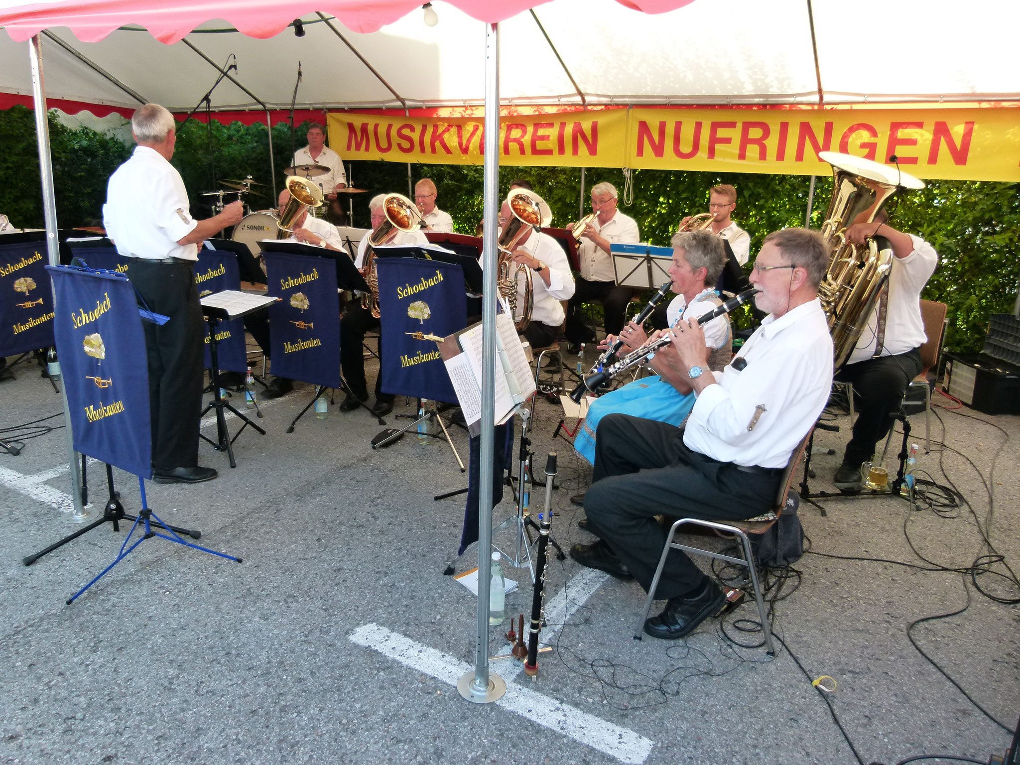 MV Nufringen Markplatzfest 29.07.2017