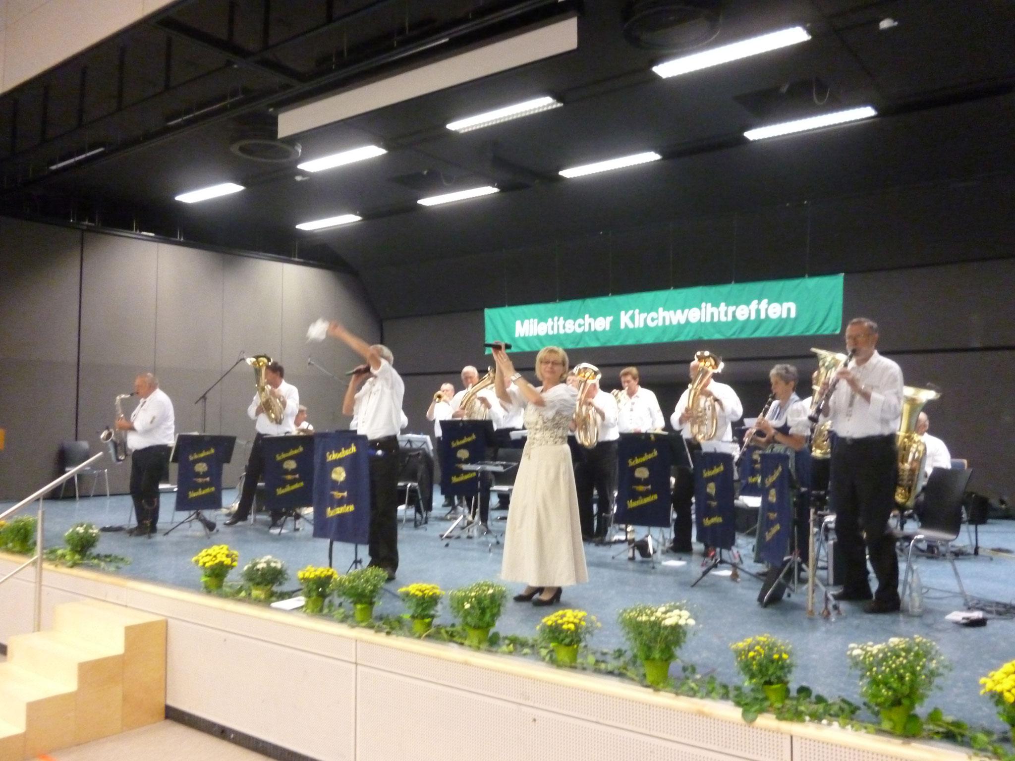 Kirchweihfest Miletitsch Schönaich 14.09.2013