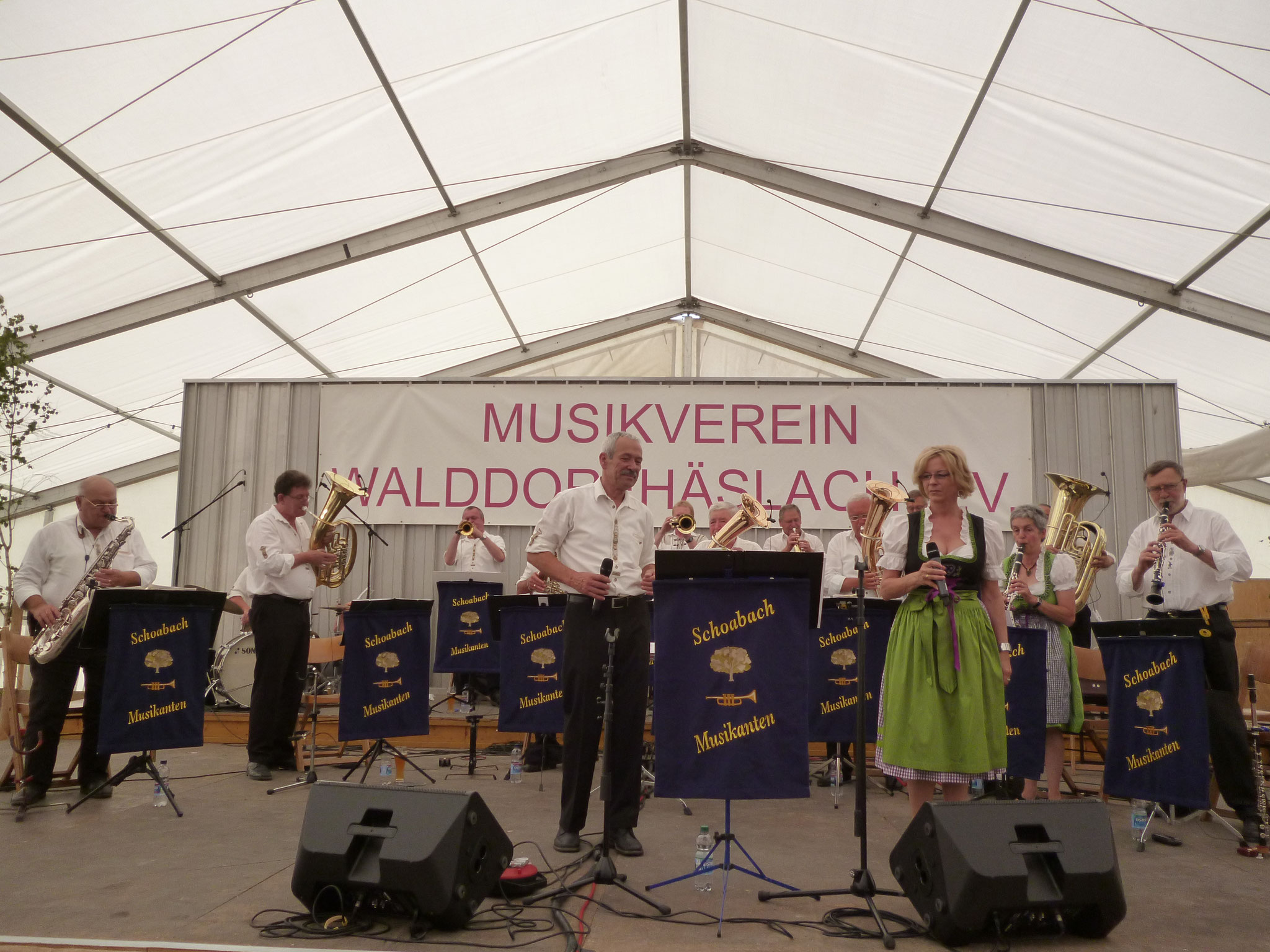 MV Walddorf Häslach Musikfest 28.05.2017