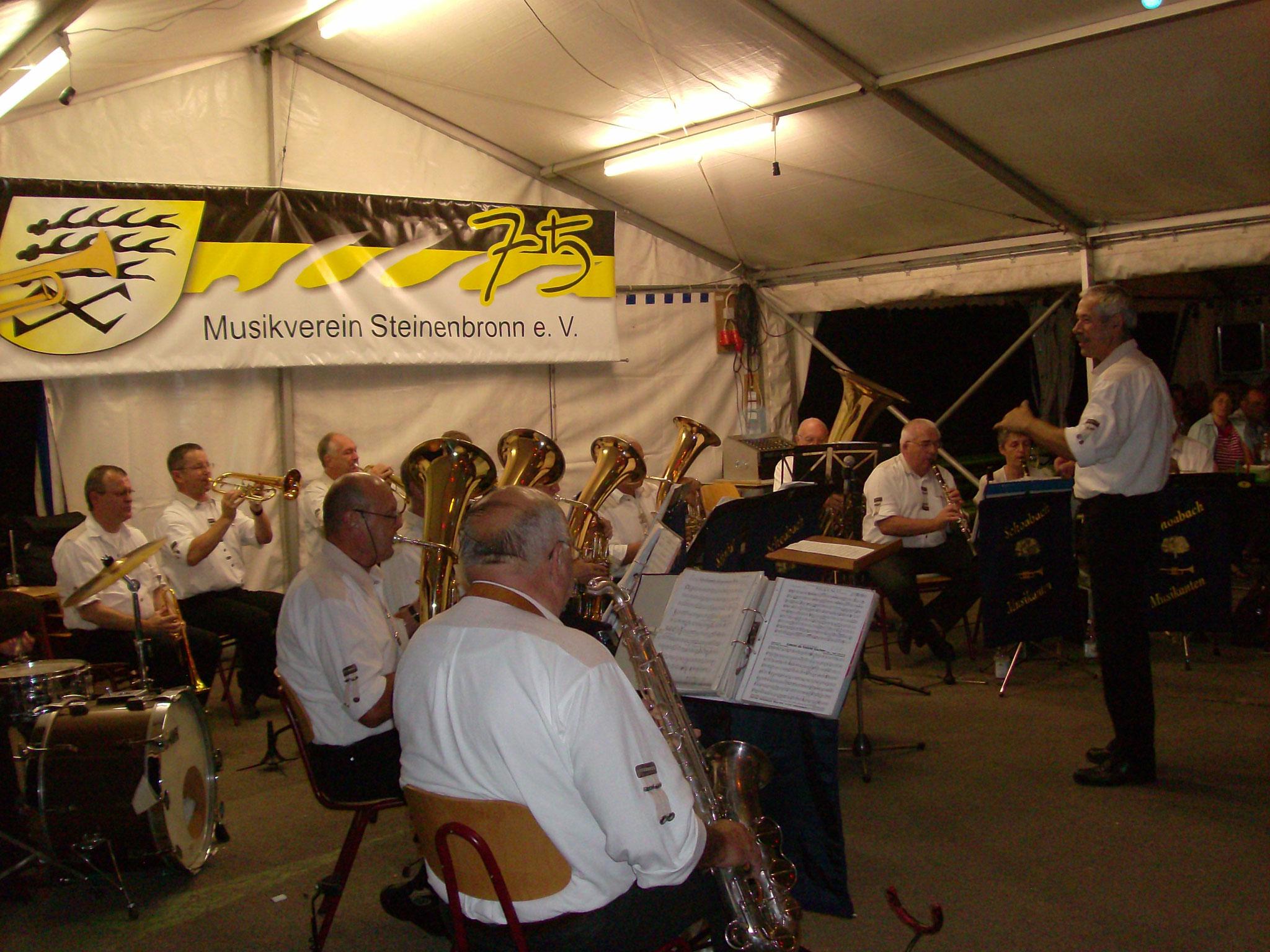 Musikfest MV Steinenbronn 01.08.2010