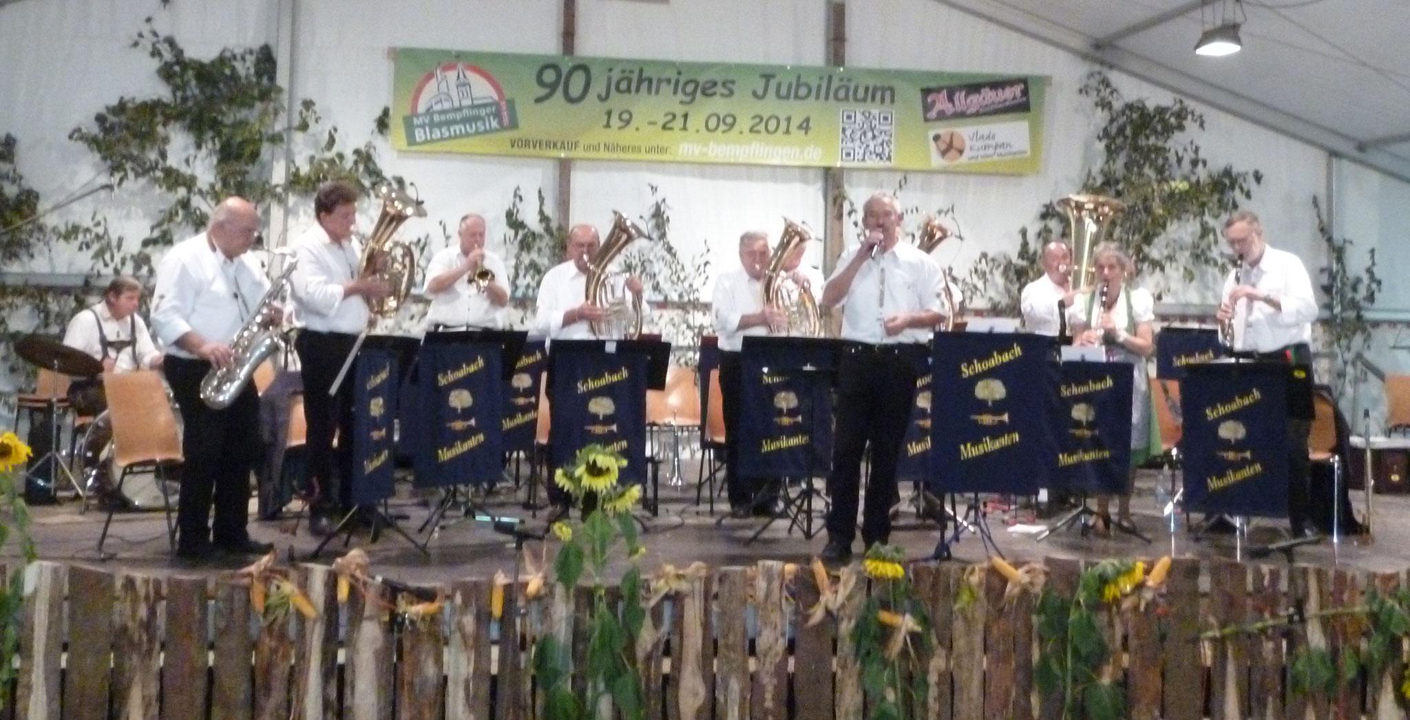 MV Bempflingen Musikfest 21.09.2014